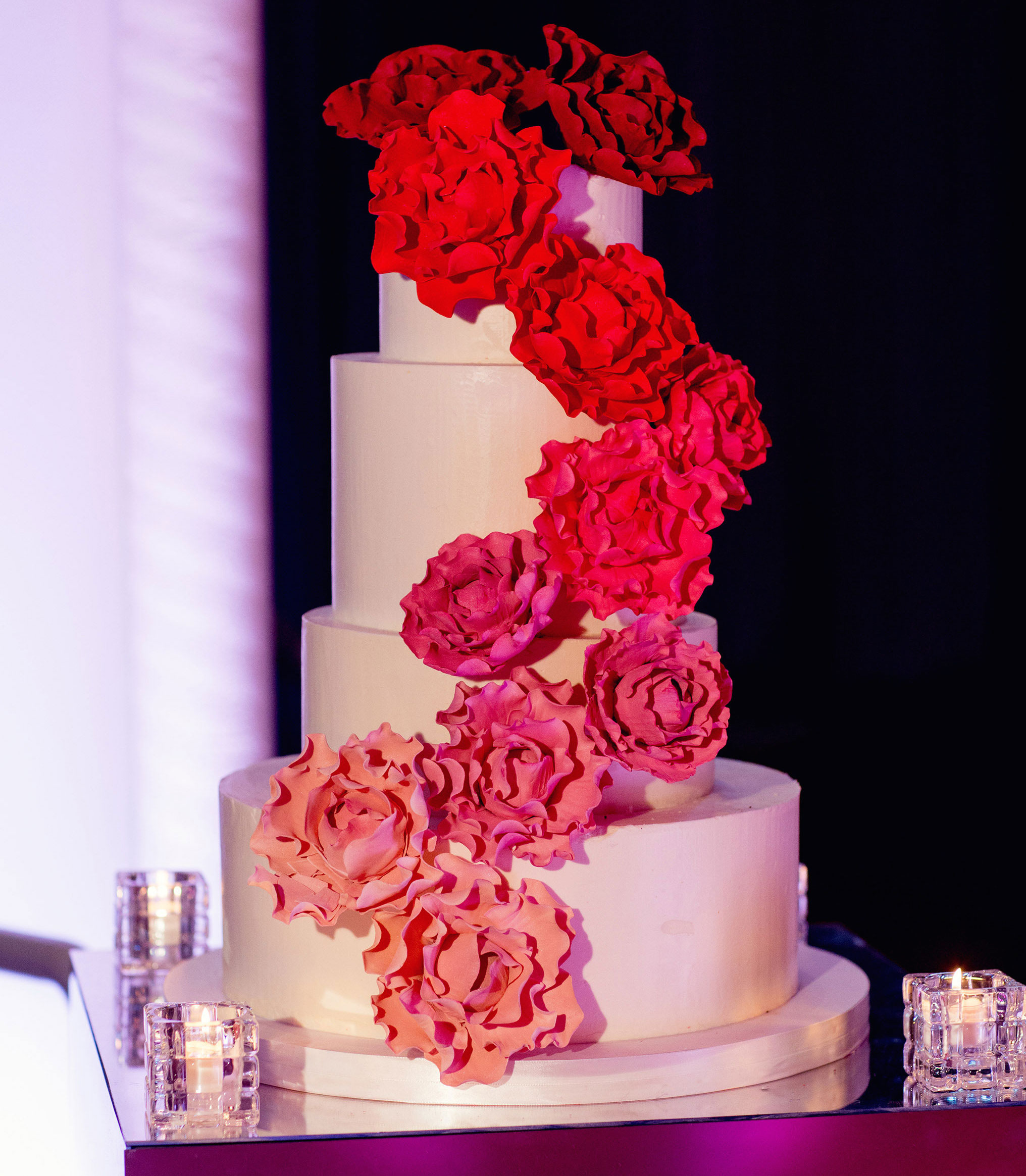 Valentine\'s Day: Pink & Red Wedding Ideas - Inside Weddings