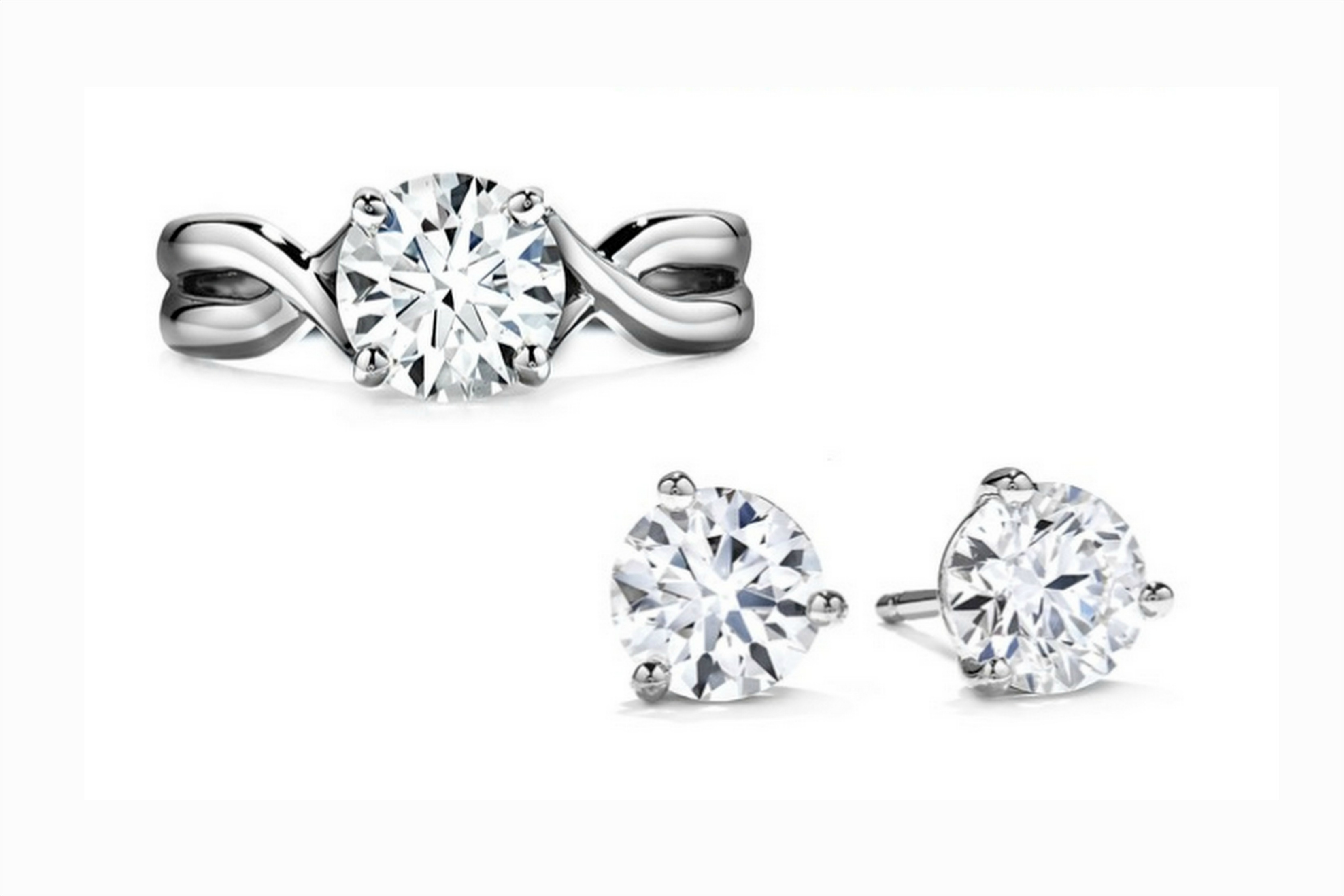Hearts On Fire cut diamond rings