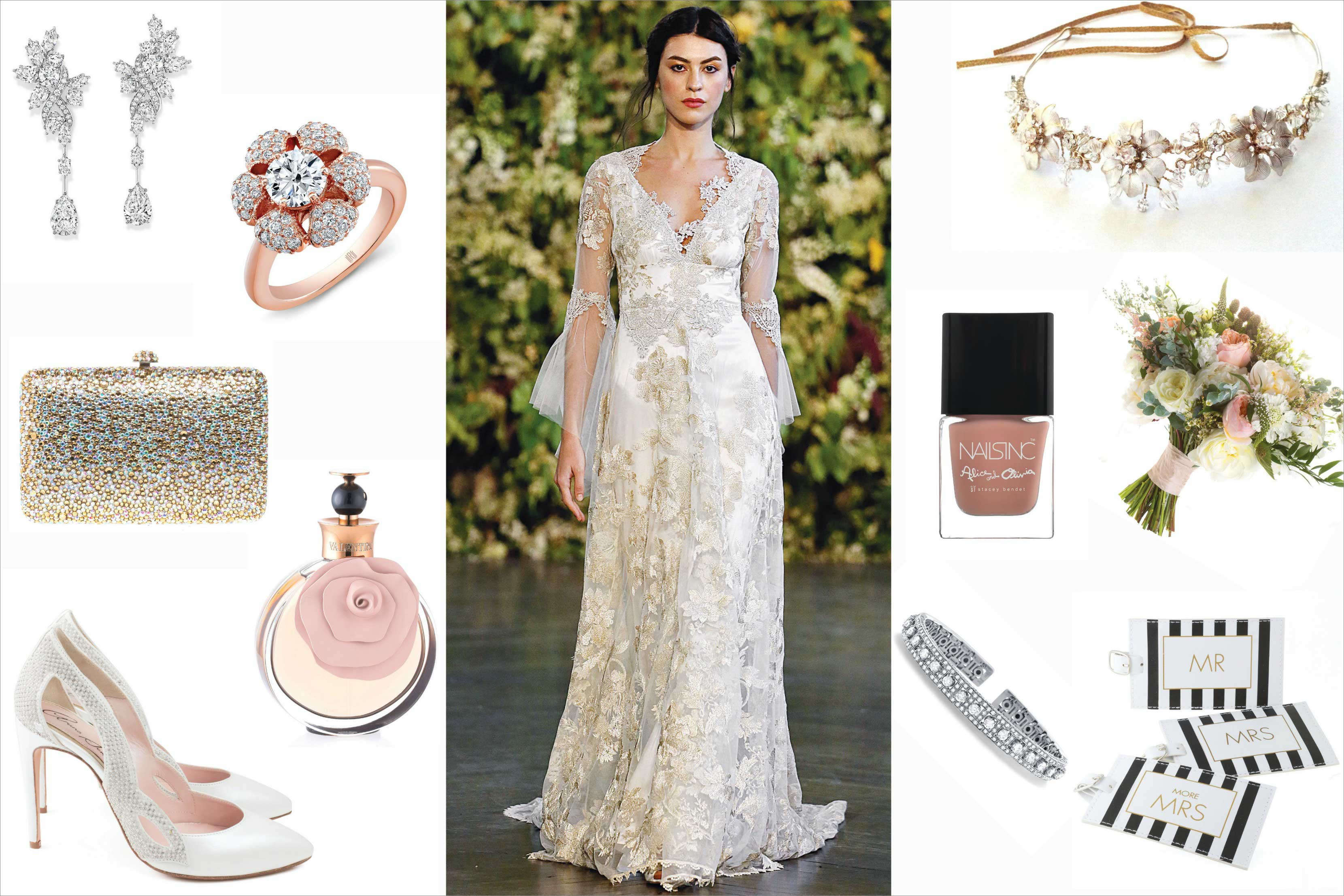 Celebrity wedding style nikki reed and ian somerhalder inside nikki reed bride inspiration junglespirit Images