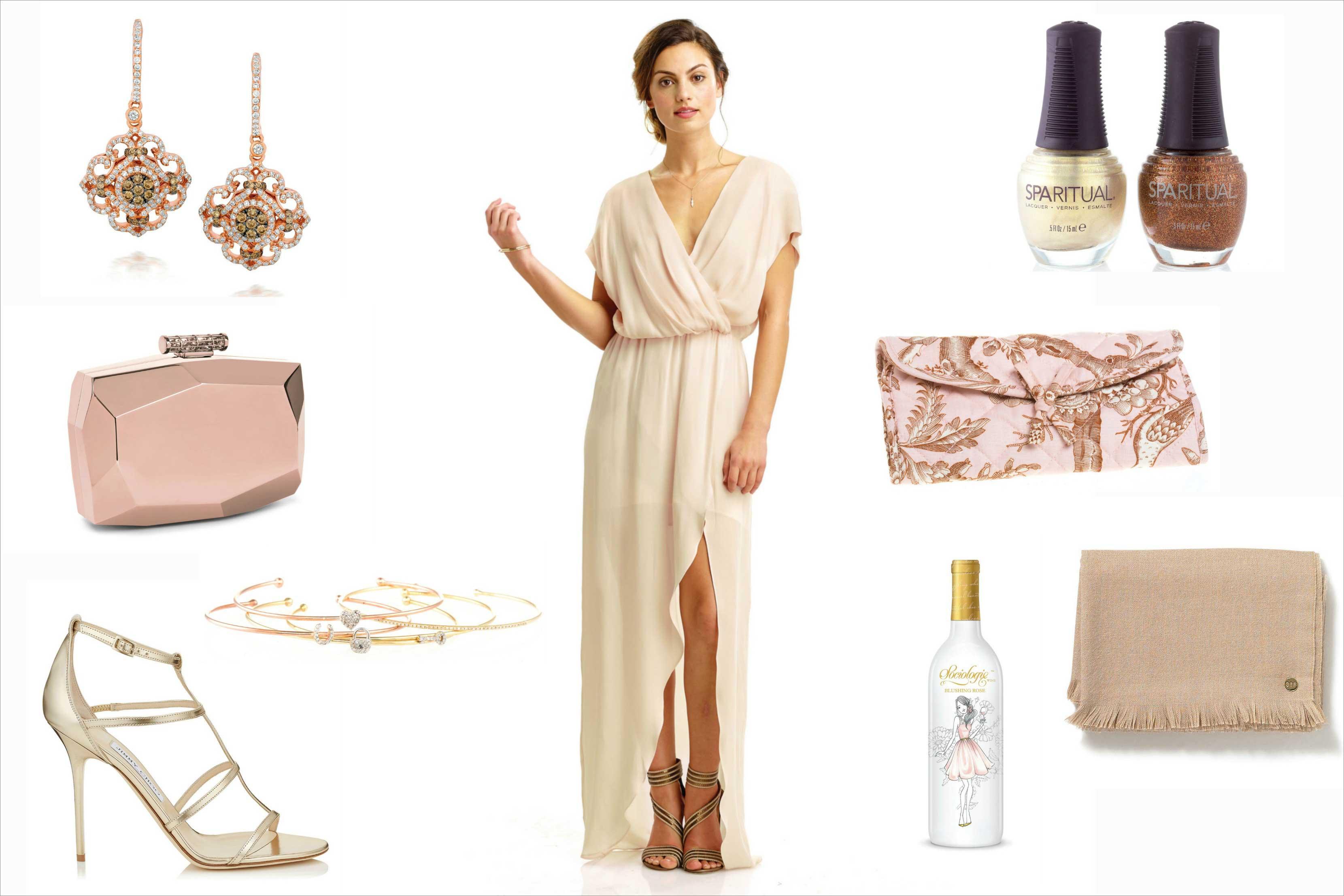 Nikki Reed bridesmaid ideas