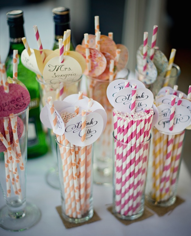 Permalink to Decorative Straws For Weddings