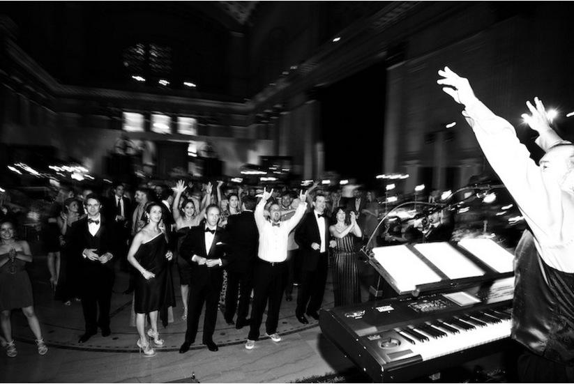 Larry King Orchestra wedding