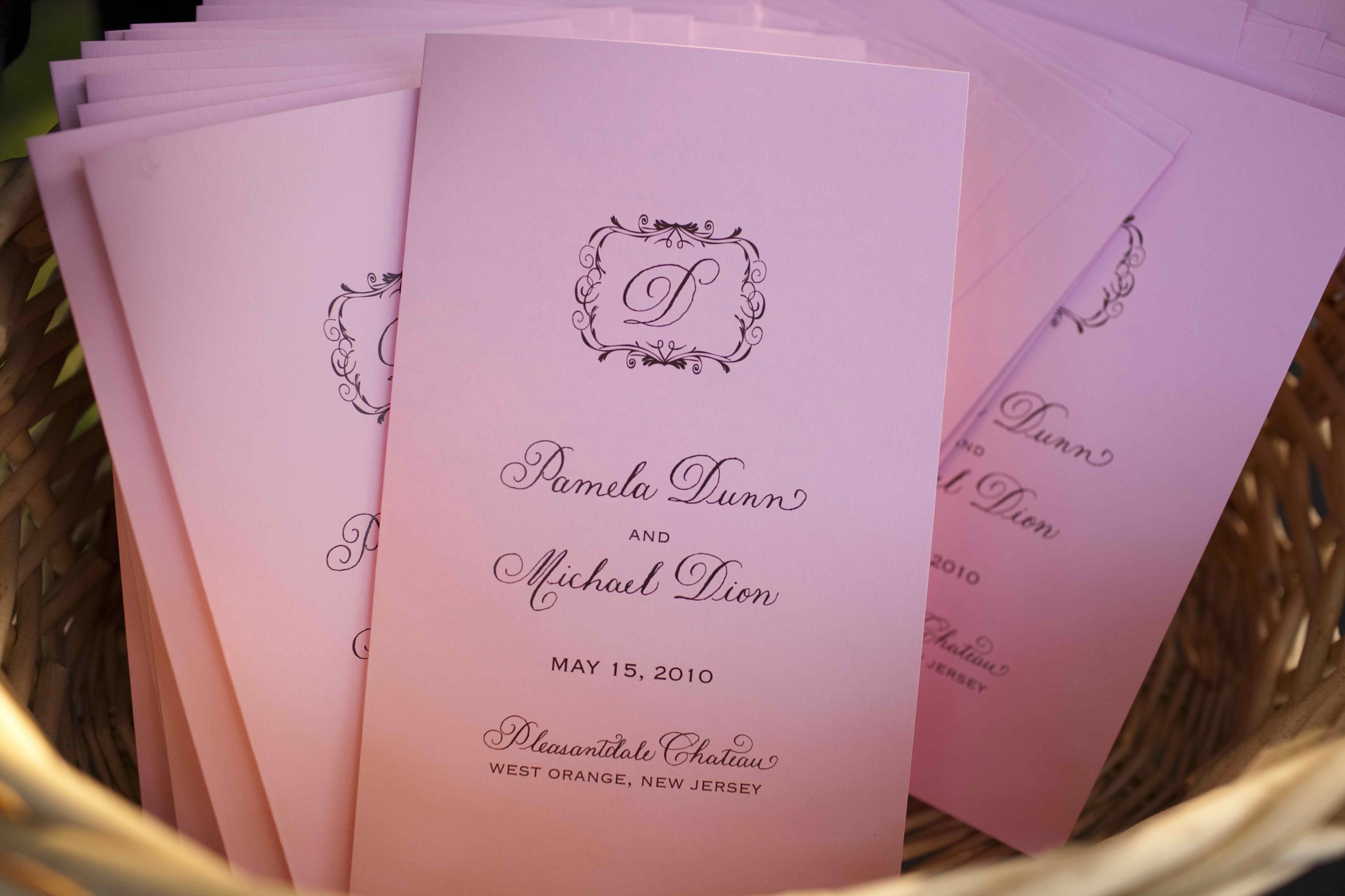 A Complete Guide to Creating Your Wedding Programs - Inside Weddings