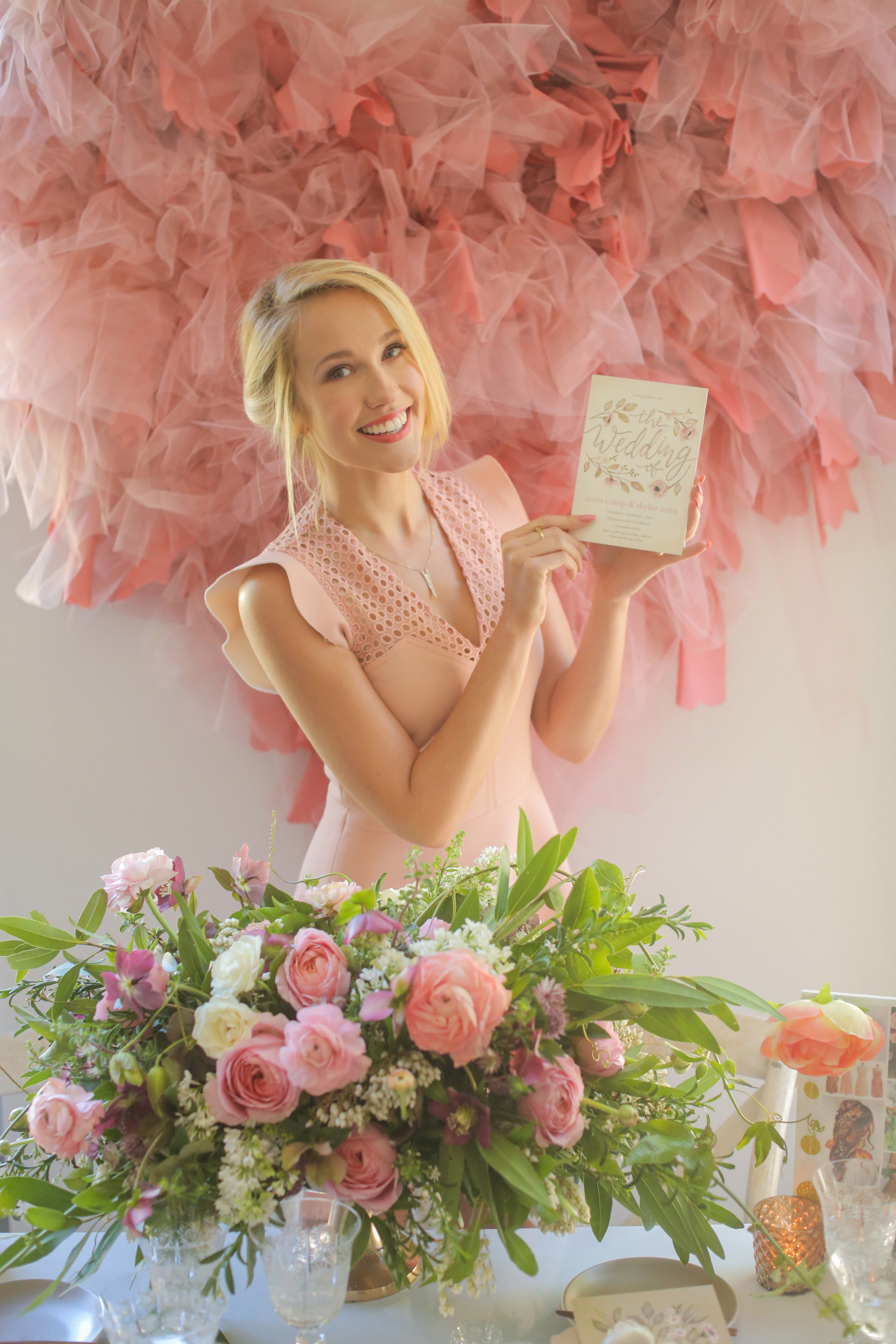 Anna Camp Wedding.A Sneak Peek Into Wedding Planning Session With Actress Anna Camp