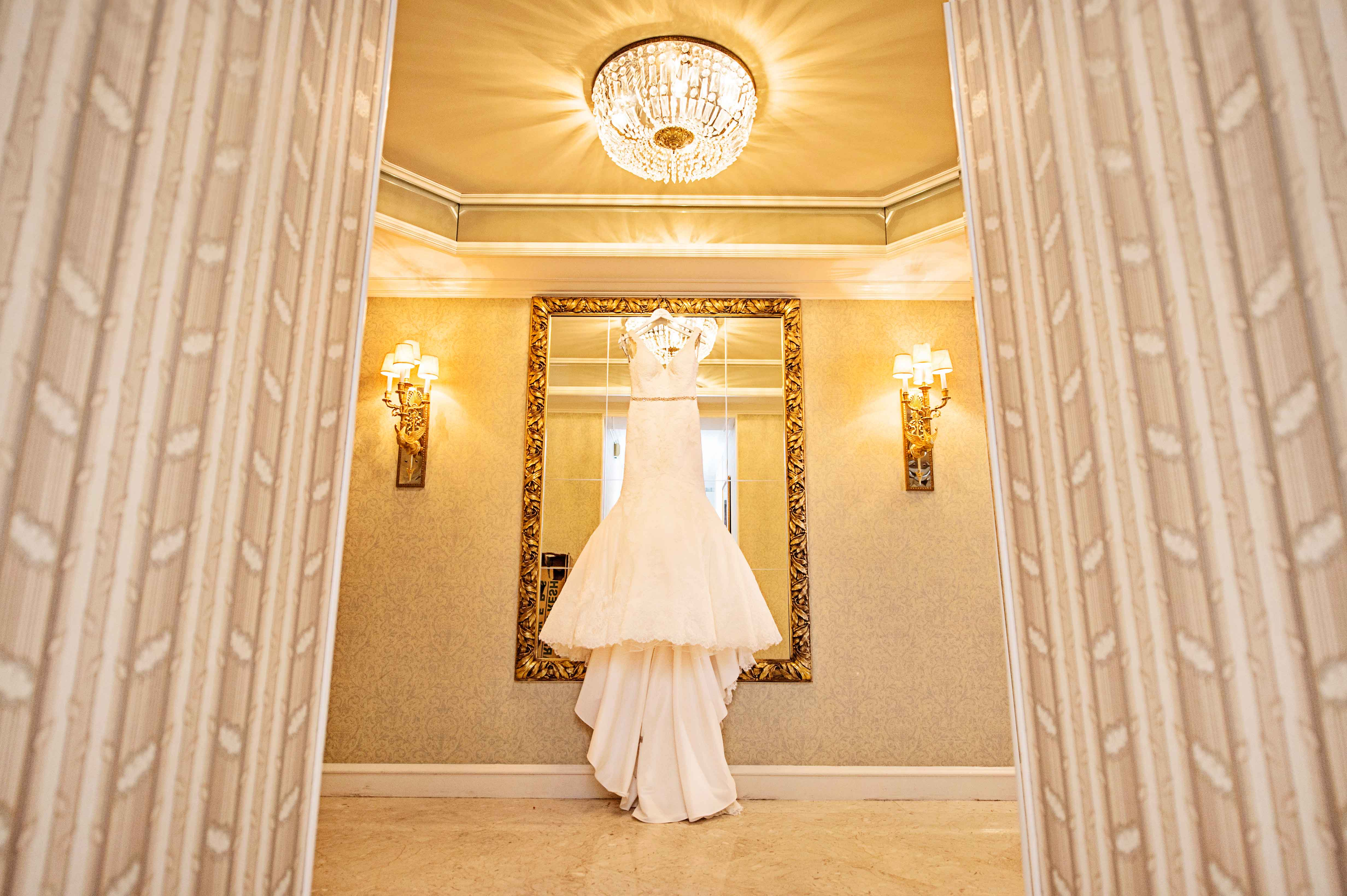 Easy and quick fixes for wedding dress stains inside for Wedding dress cleaning chicago