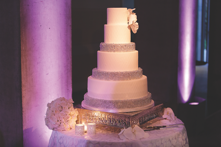fondant or buttercream wedding cake