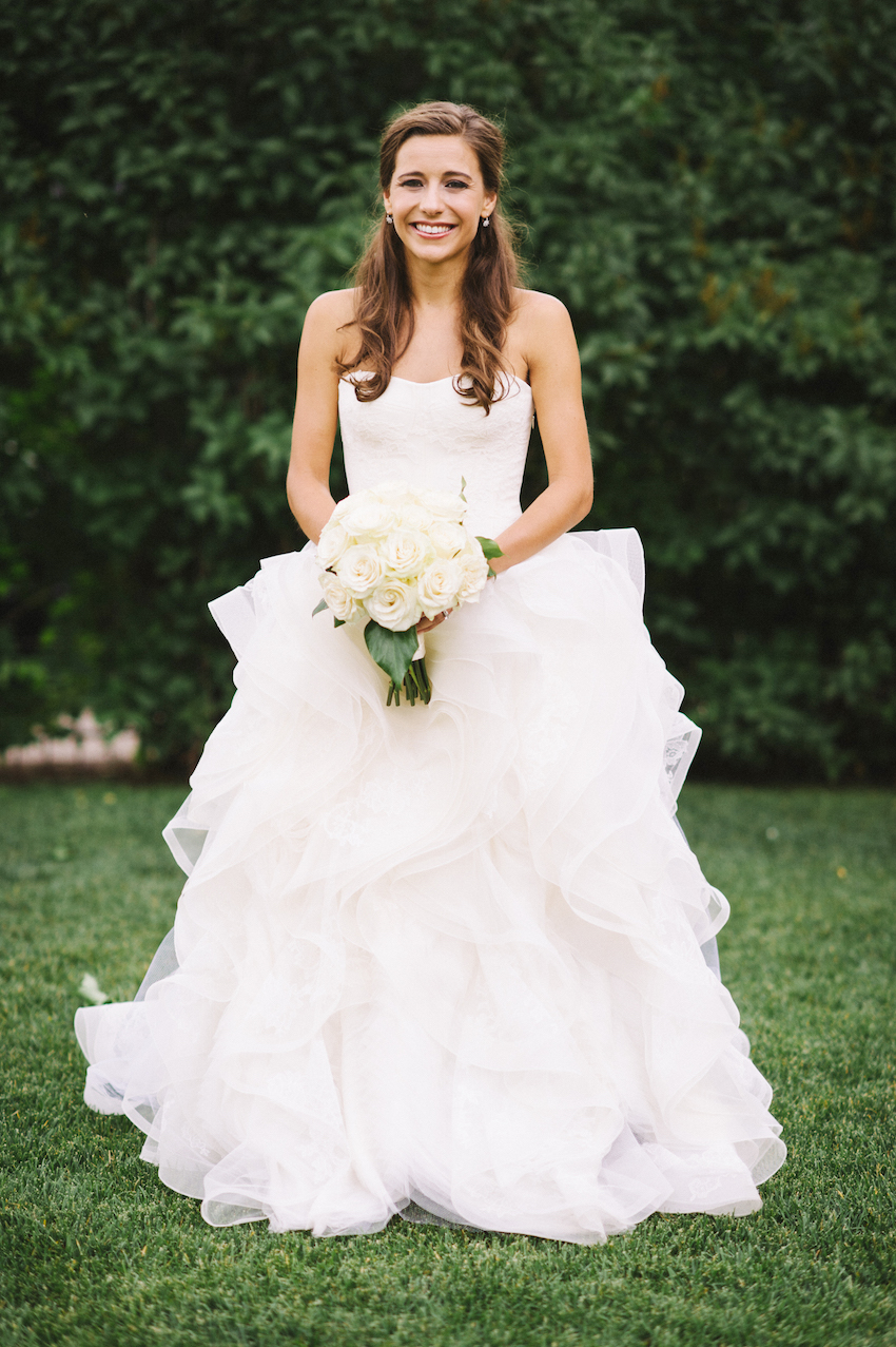 Wedding Ideas: 8 Ways to Add Ruffles to Décor - Inside Weddings