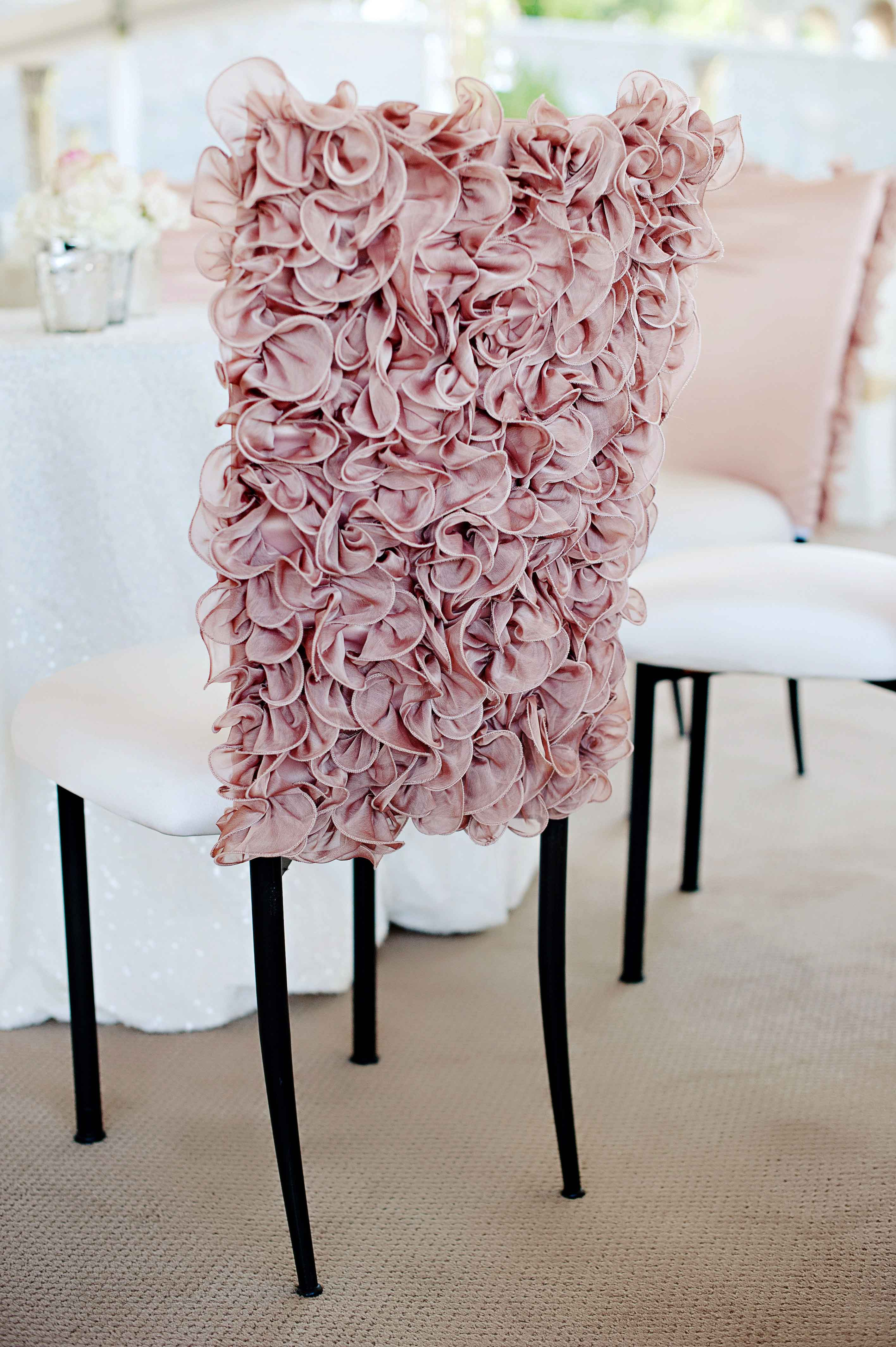 Wedding Ideas 8 Ways to Add Ruffles to Décor Inside Weddings