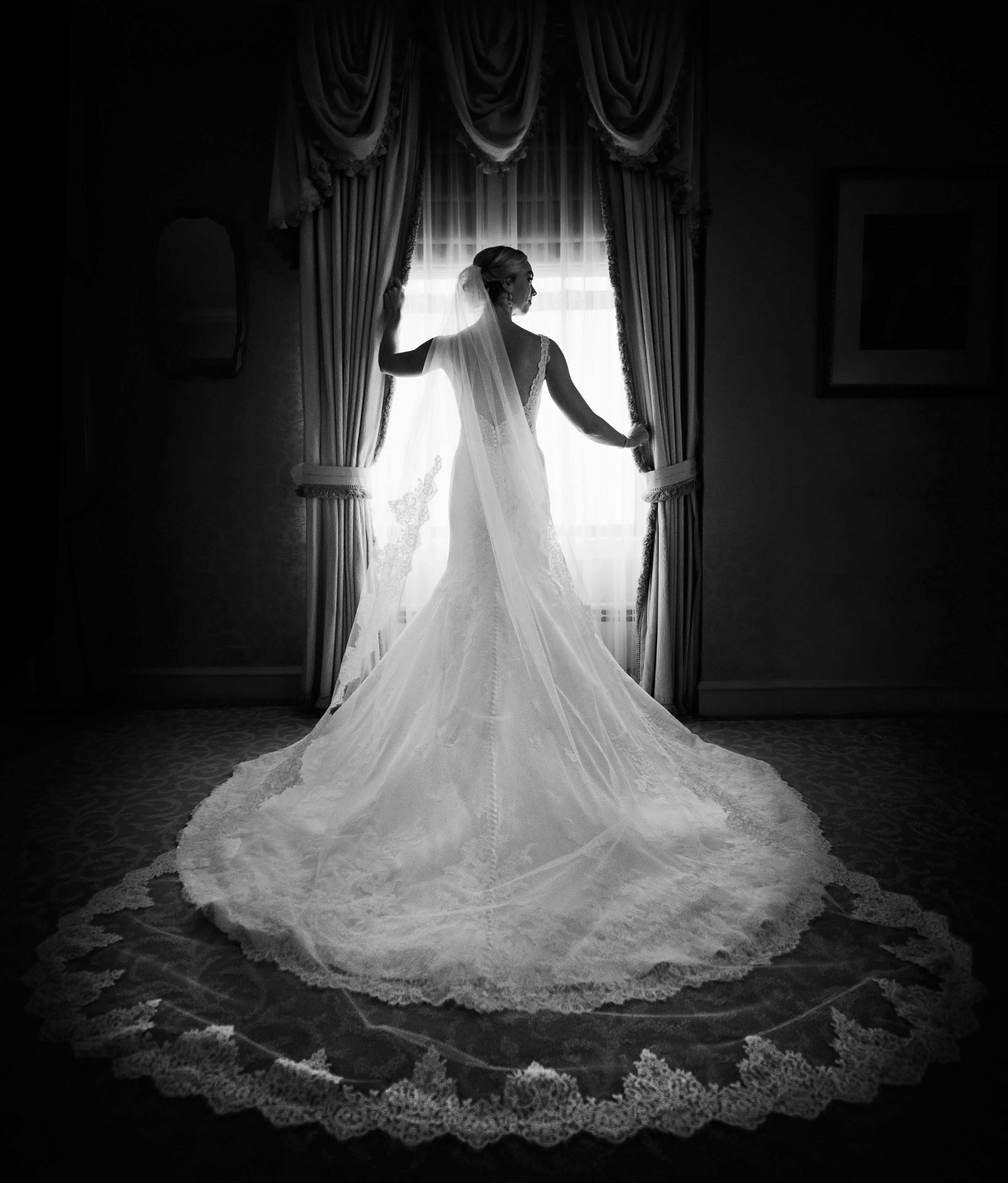 Gorgeous White Wedding Inspiration Bridalguide: Wedding Accessories: 7 Dramatic Cathedral Veil Styles