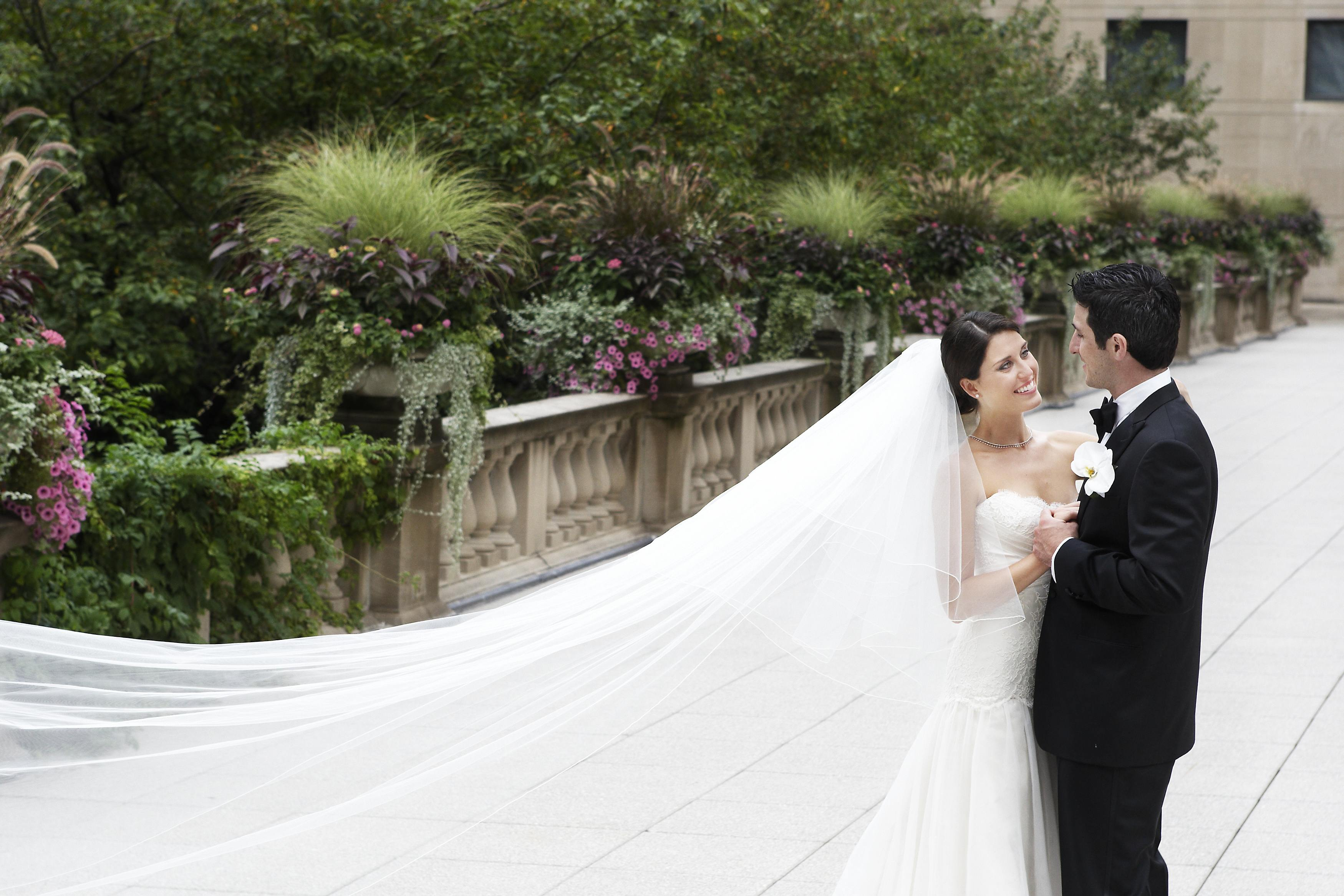 Two Tiered Cathedral Veil