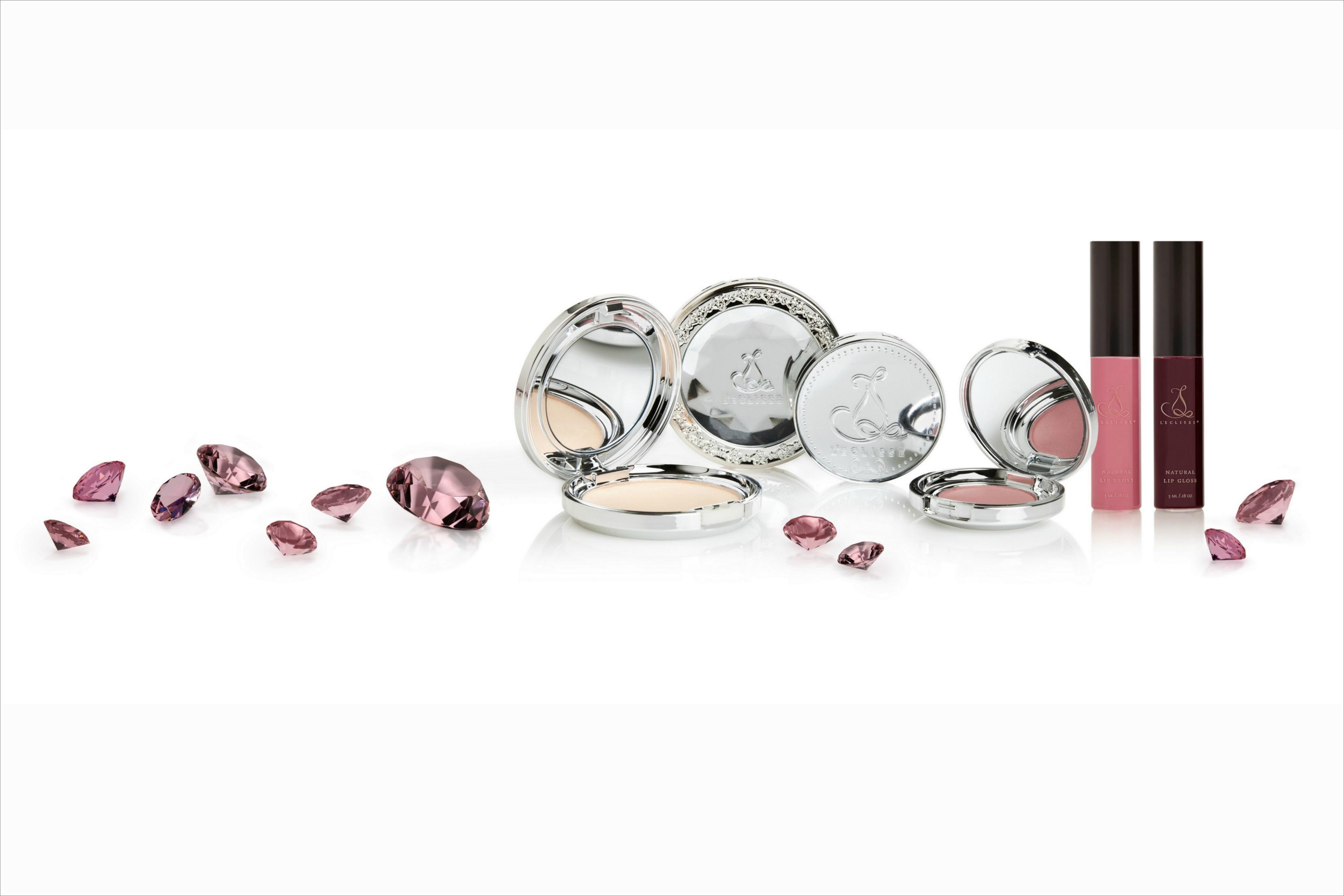 L'Eclisse Natural lipgloss, natural mineral formulas, blush