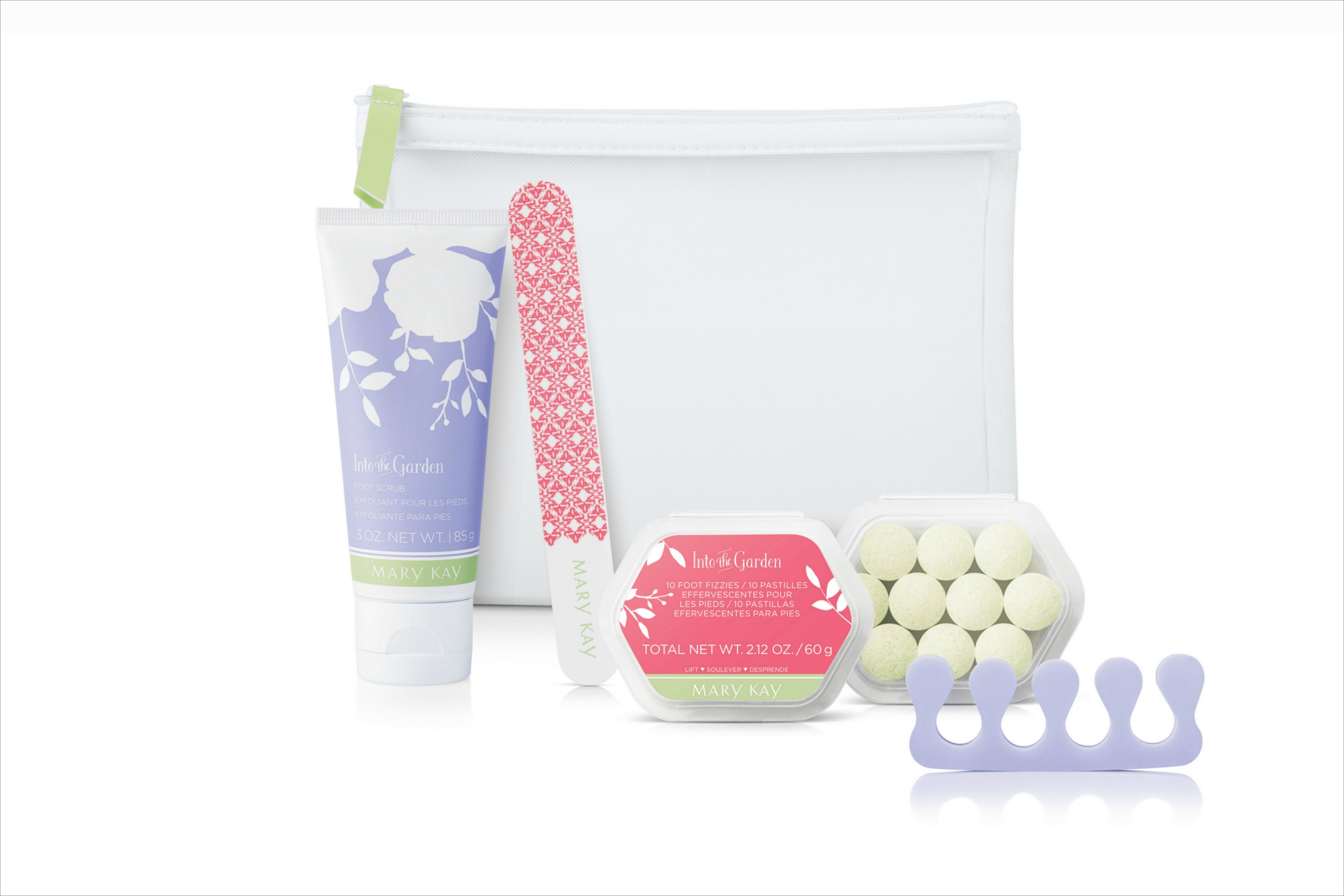 Mary Kay Limited Edition Into the Garden Pedicure Set