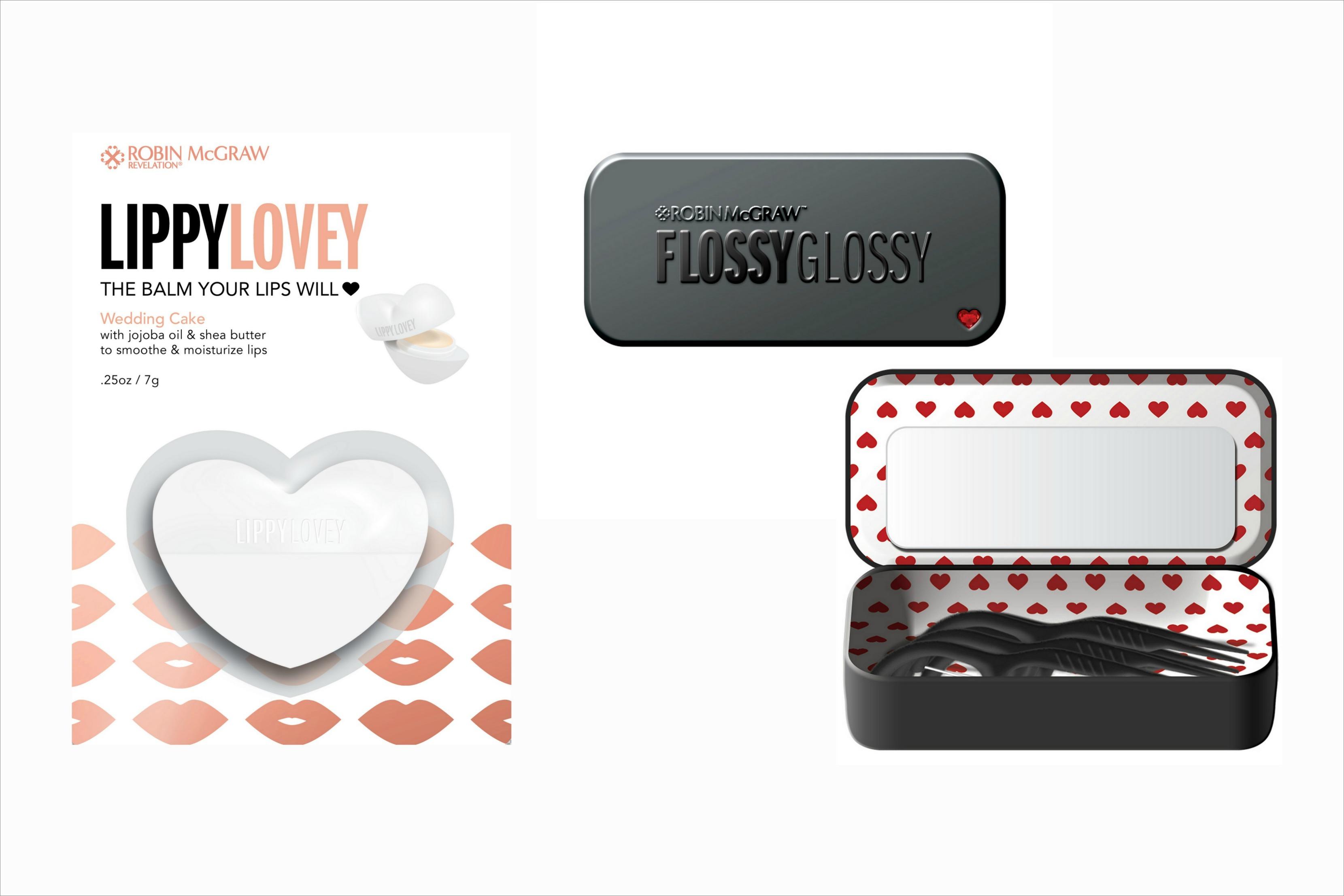 Robin McGraw Revelation Flossy Glossy and Lippy Lovey