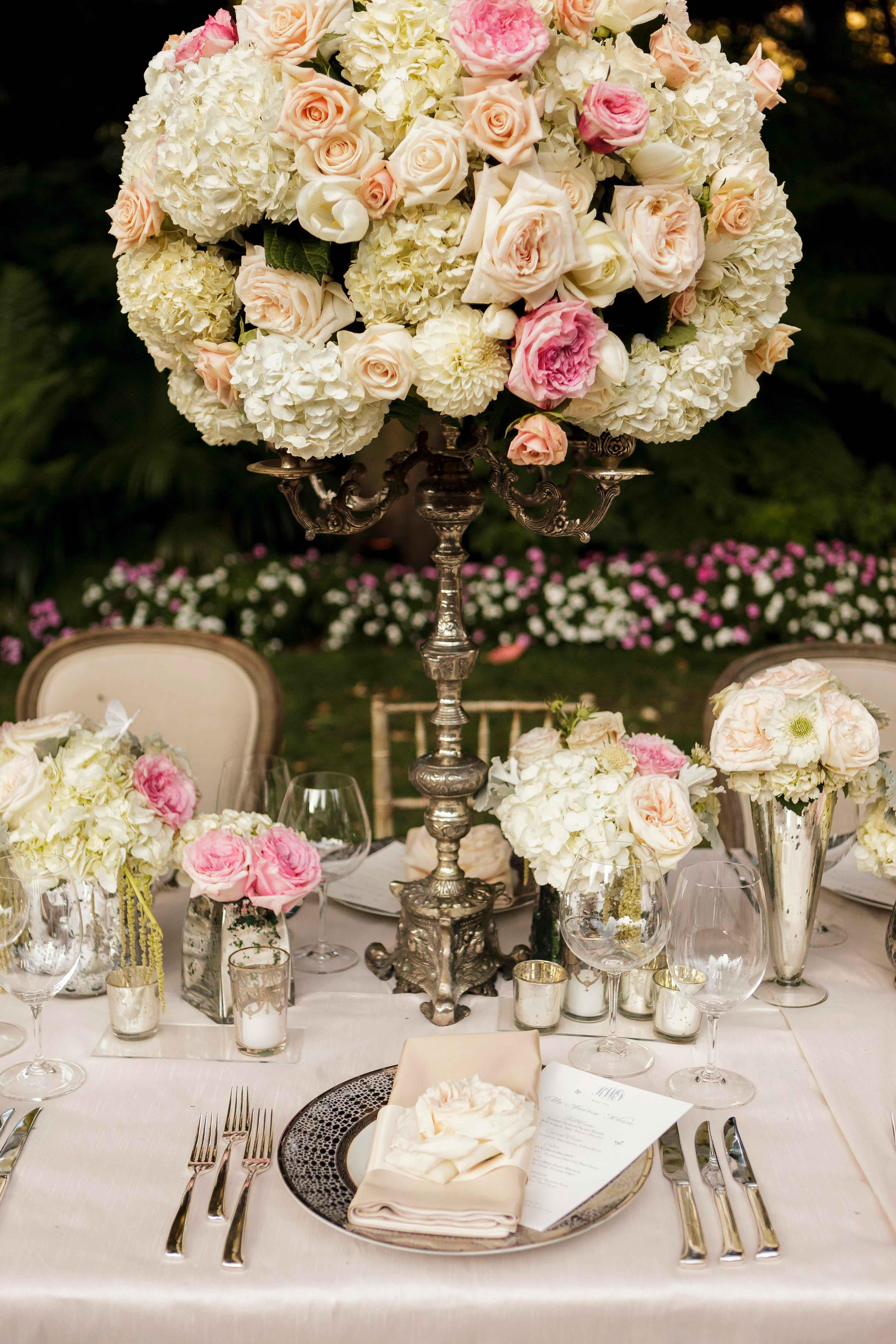 Wedding Ideas Elegant Candelabra Styles in Wedding Dcor Inside