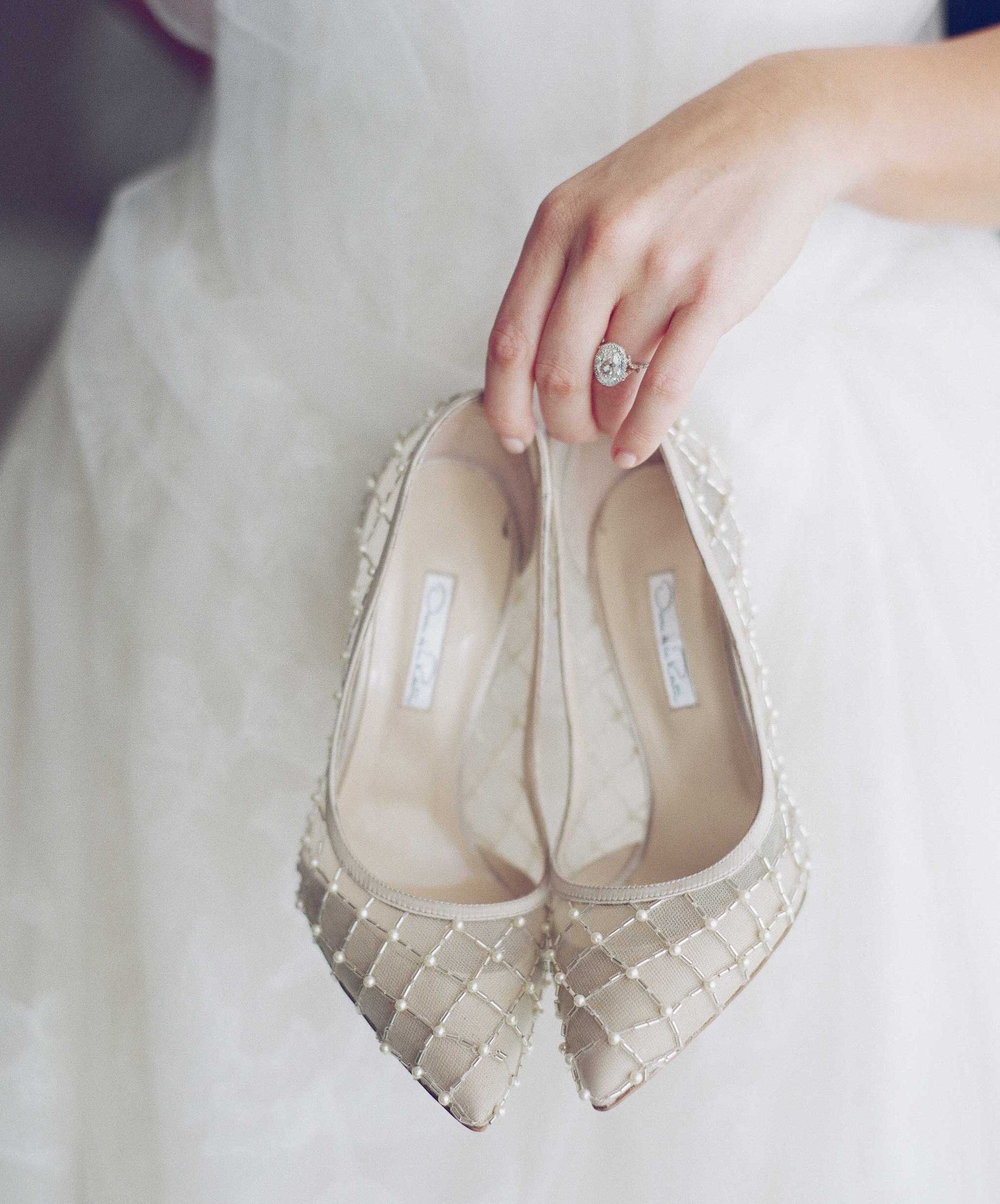 Wedding Shoes: 25 Stylish Heels Worn by Real Brides - Inside Weddings