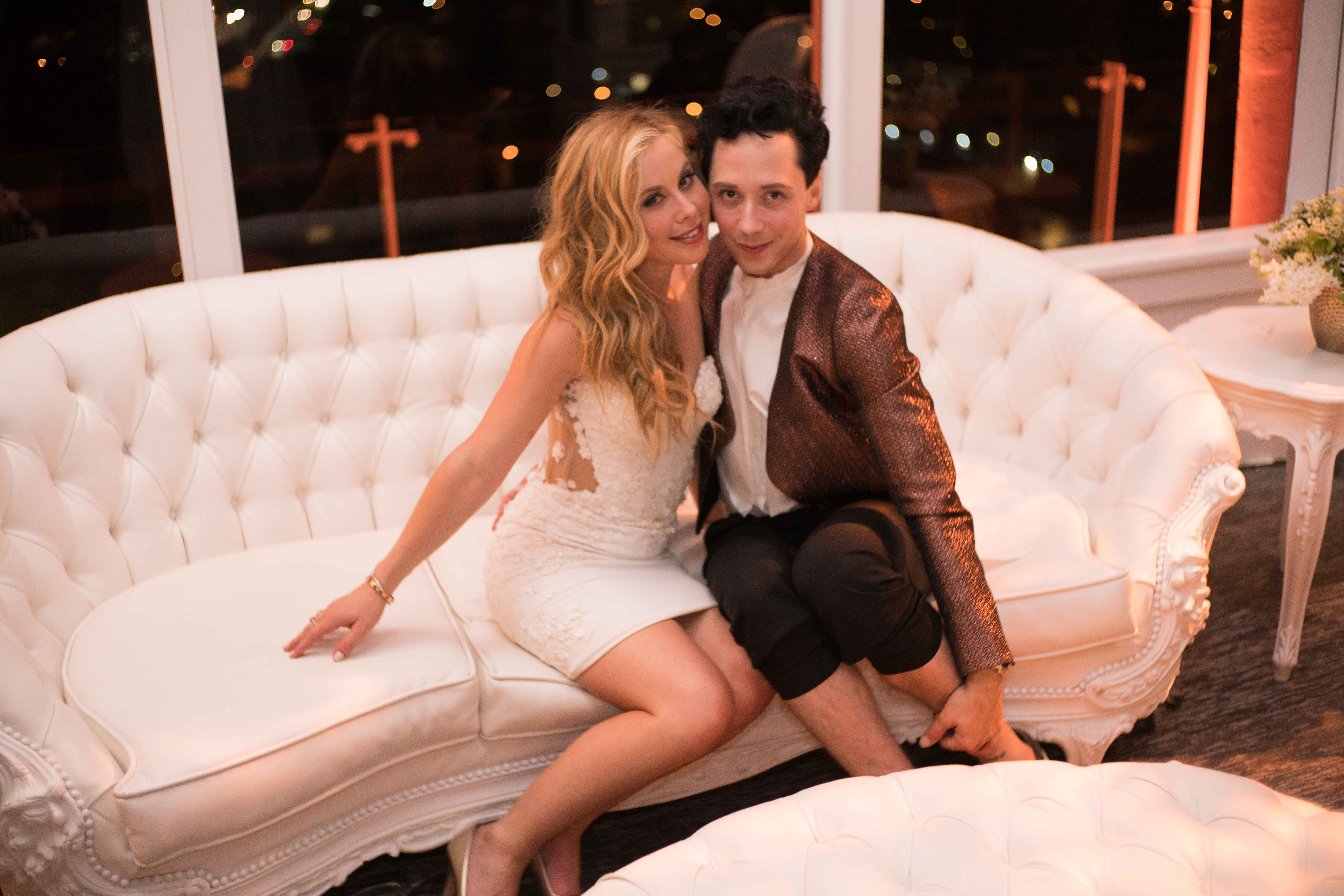 Olympic gold medalist Tara Lipinski's engagement party space Johnny Weir Mr C Beverly Hills May 2016 fiance Todd Kapostasy Mindy Weiss wedding planner
