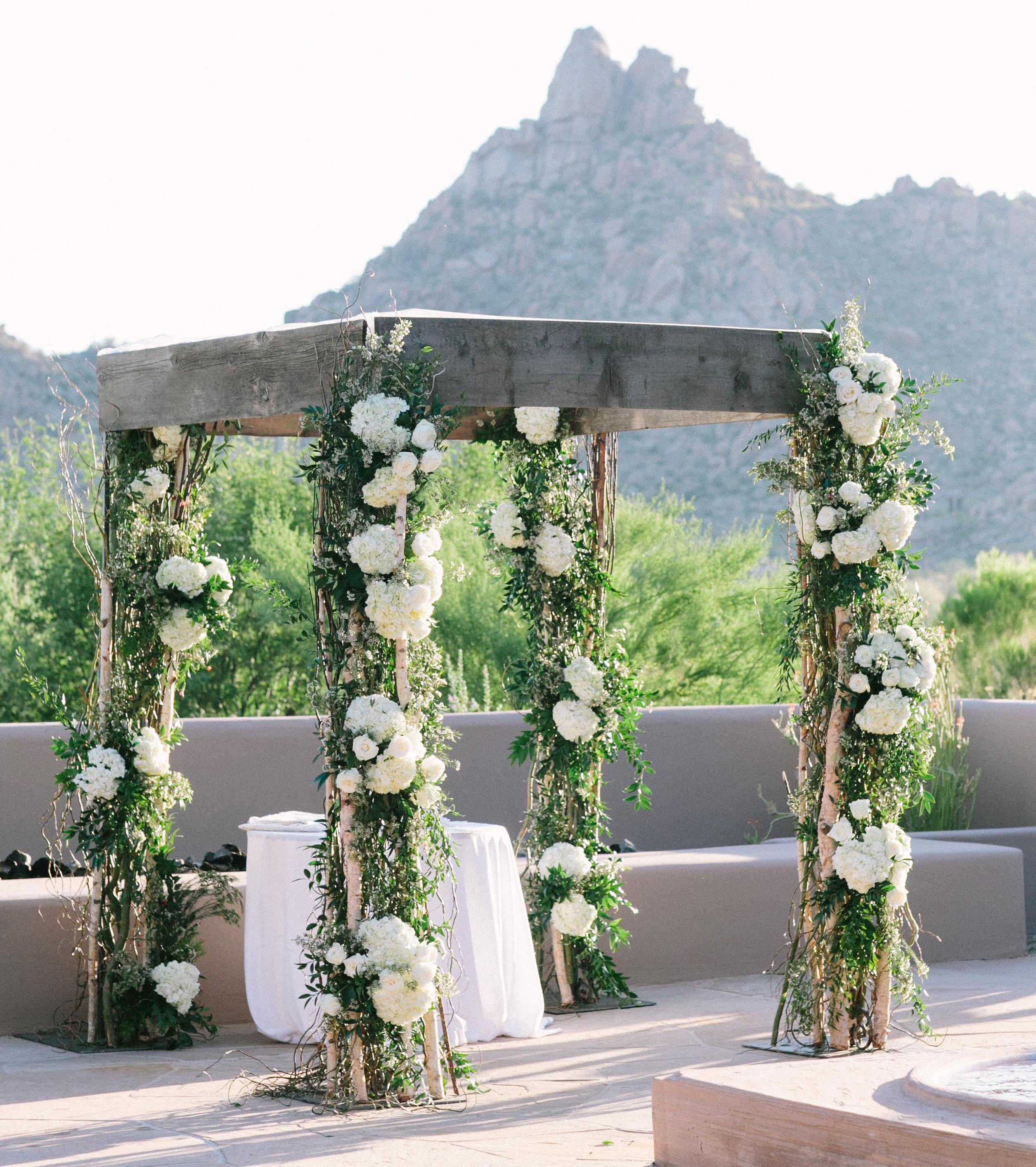 Rustic Wedding Altar Ideas: Wedding Ceremony Ideas: 16 Amazing Chuppahs