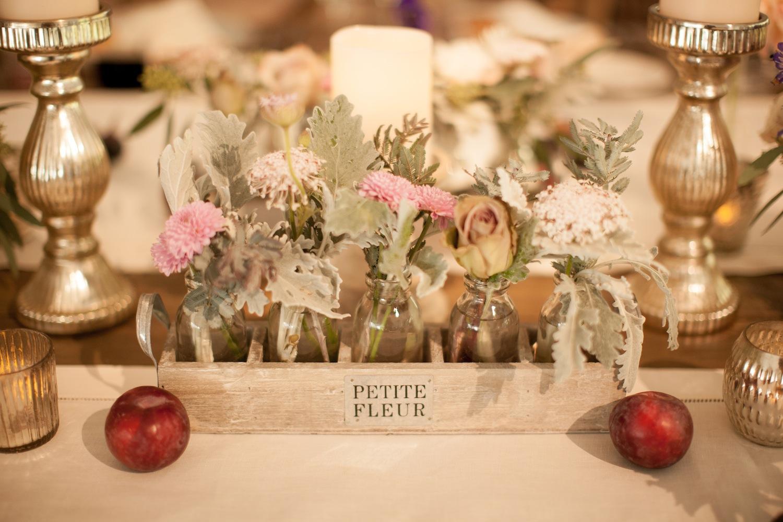 garden wedding inspiration, floral centerpieces