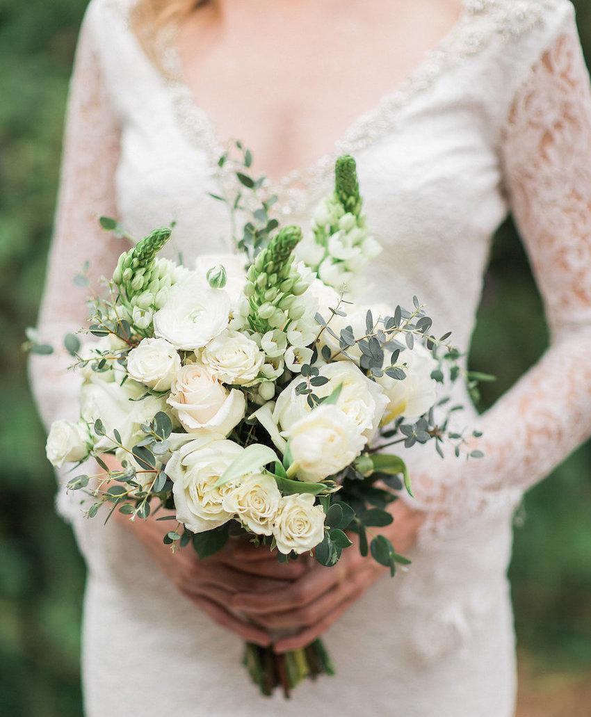 garden wedding bridal bouquet