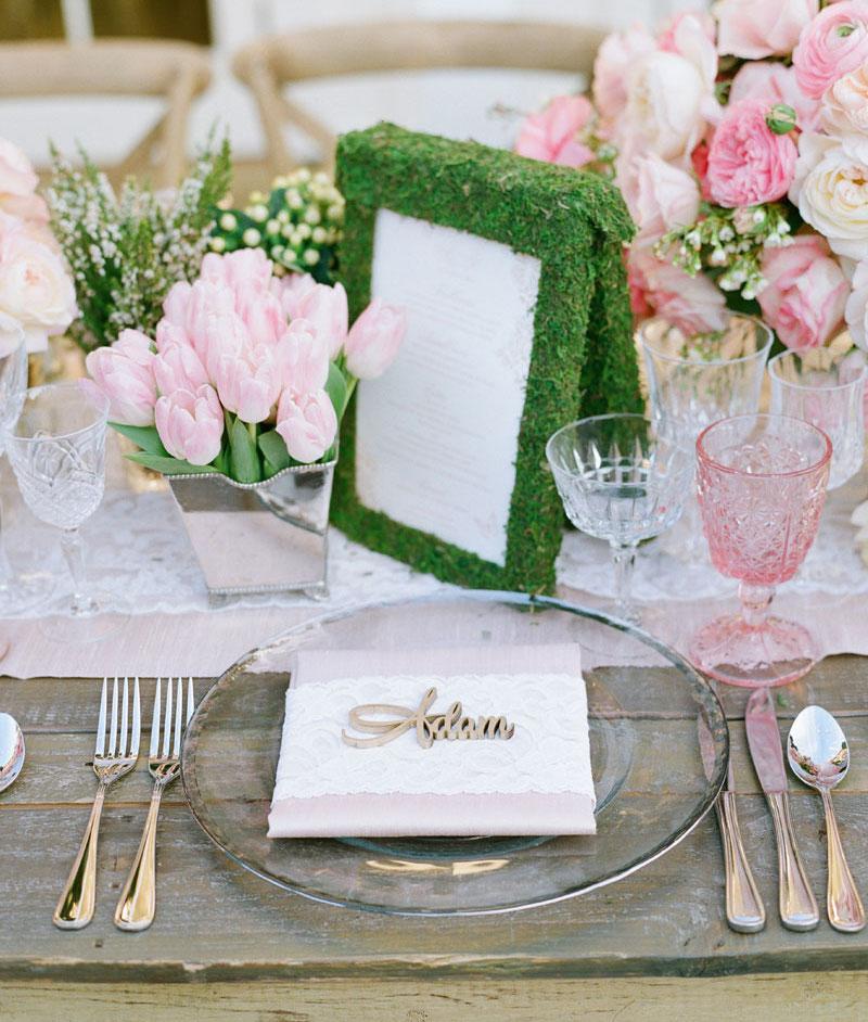garden wedding inspiration, tablescape decor