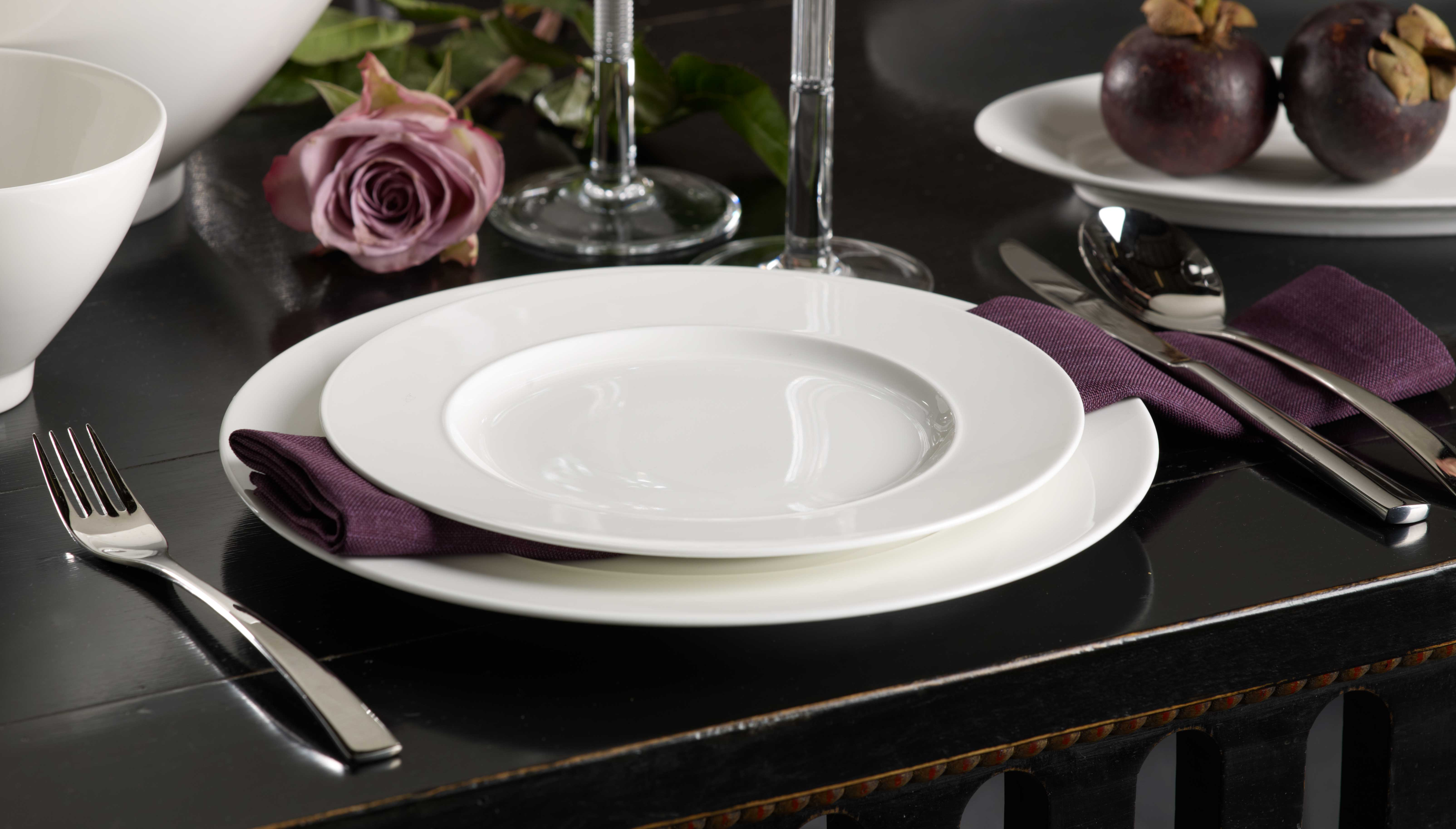 Villeroy Boch China And Tableware At Wedding Reception Hall