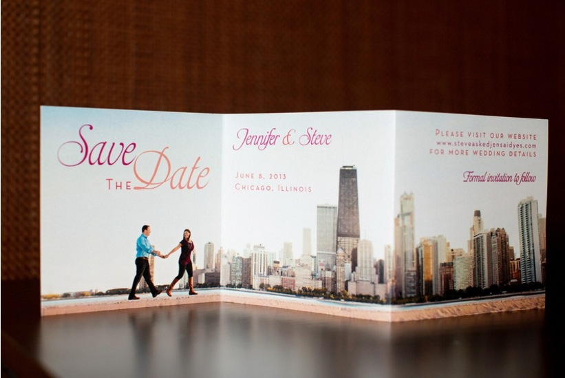 what information do you put on a save the date?