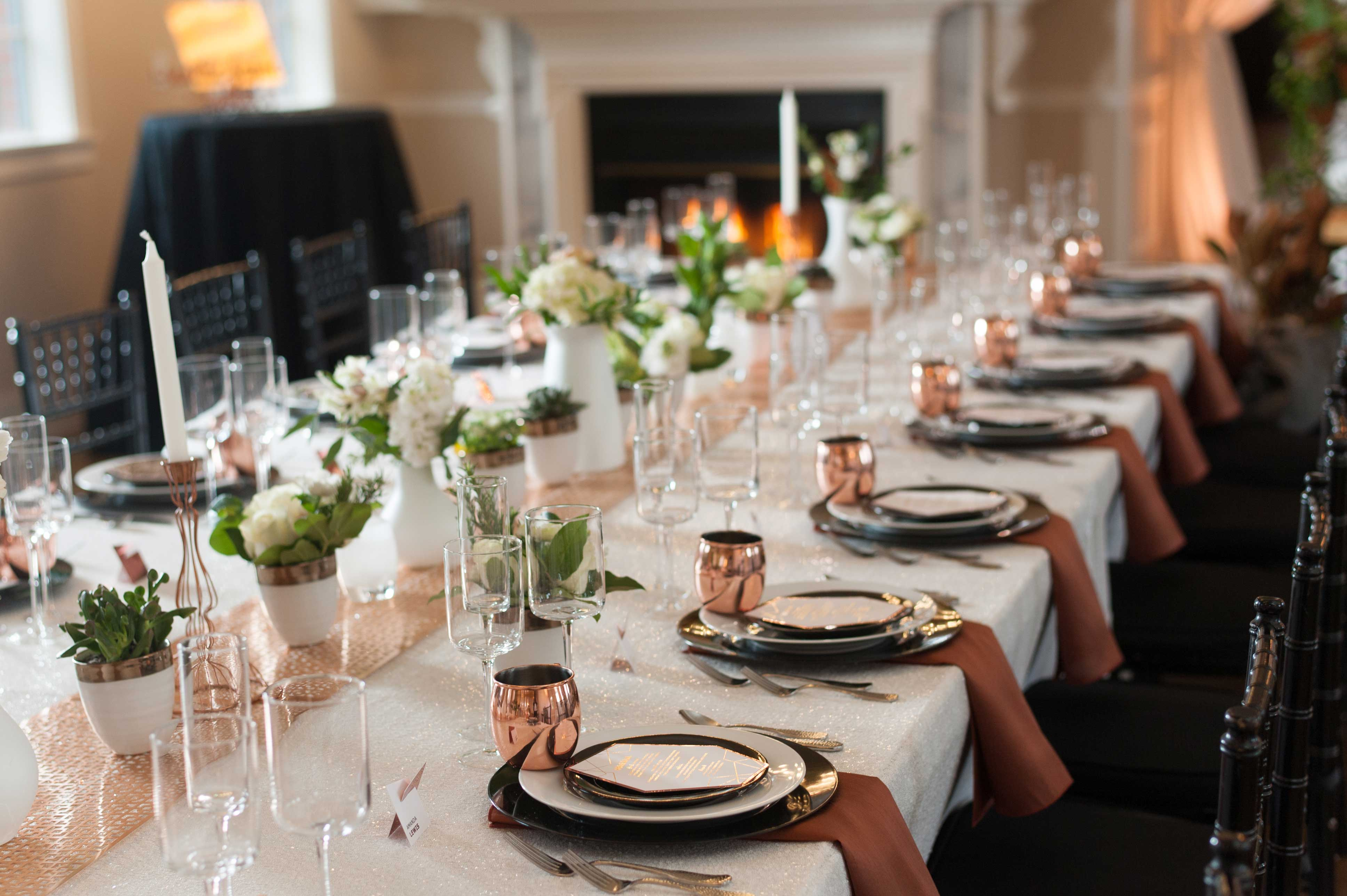 8 unique tablescapes for your wedding inside weddings