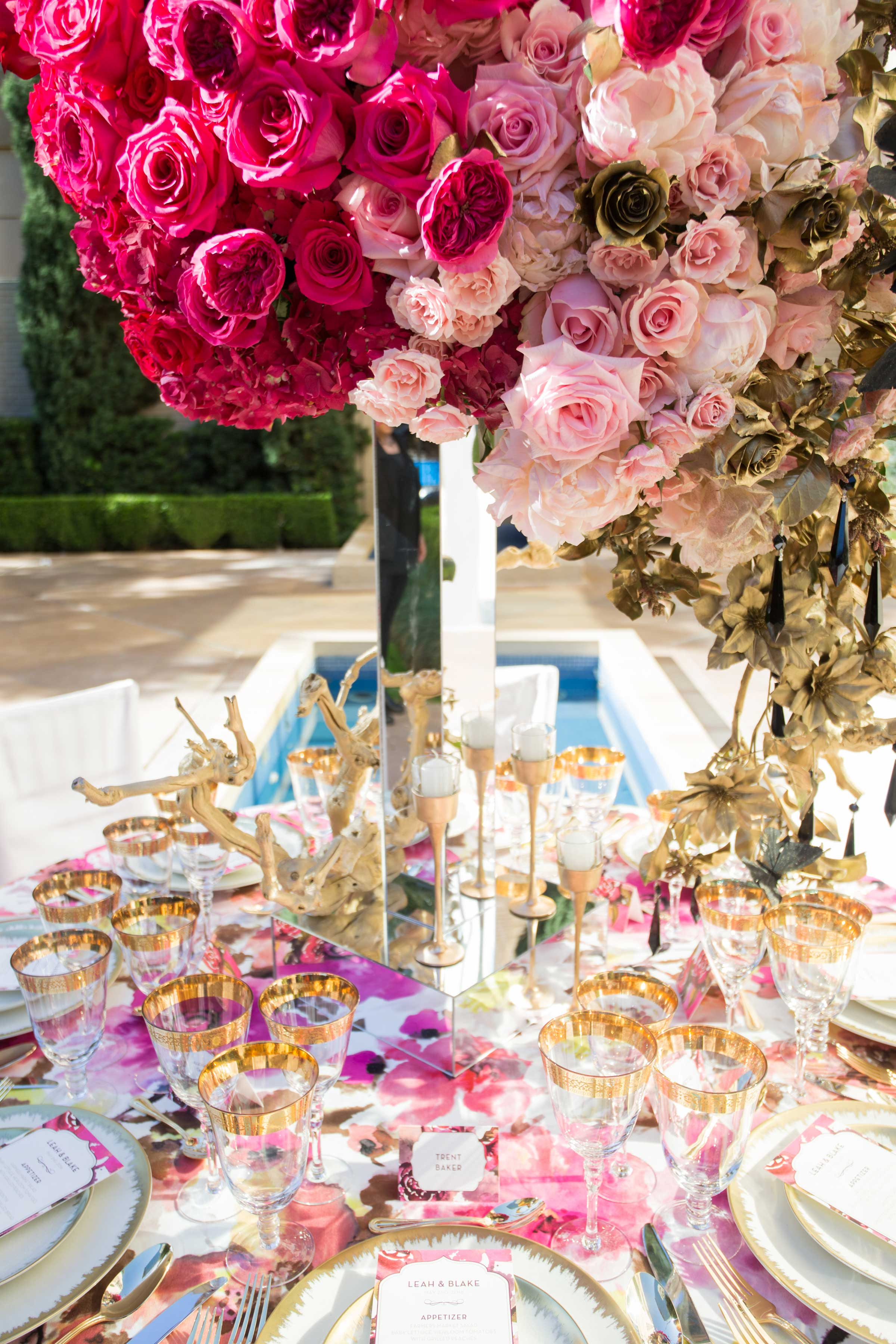 alexander mcqueen and chanel inspired wedding styled shoot