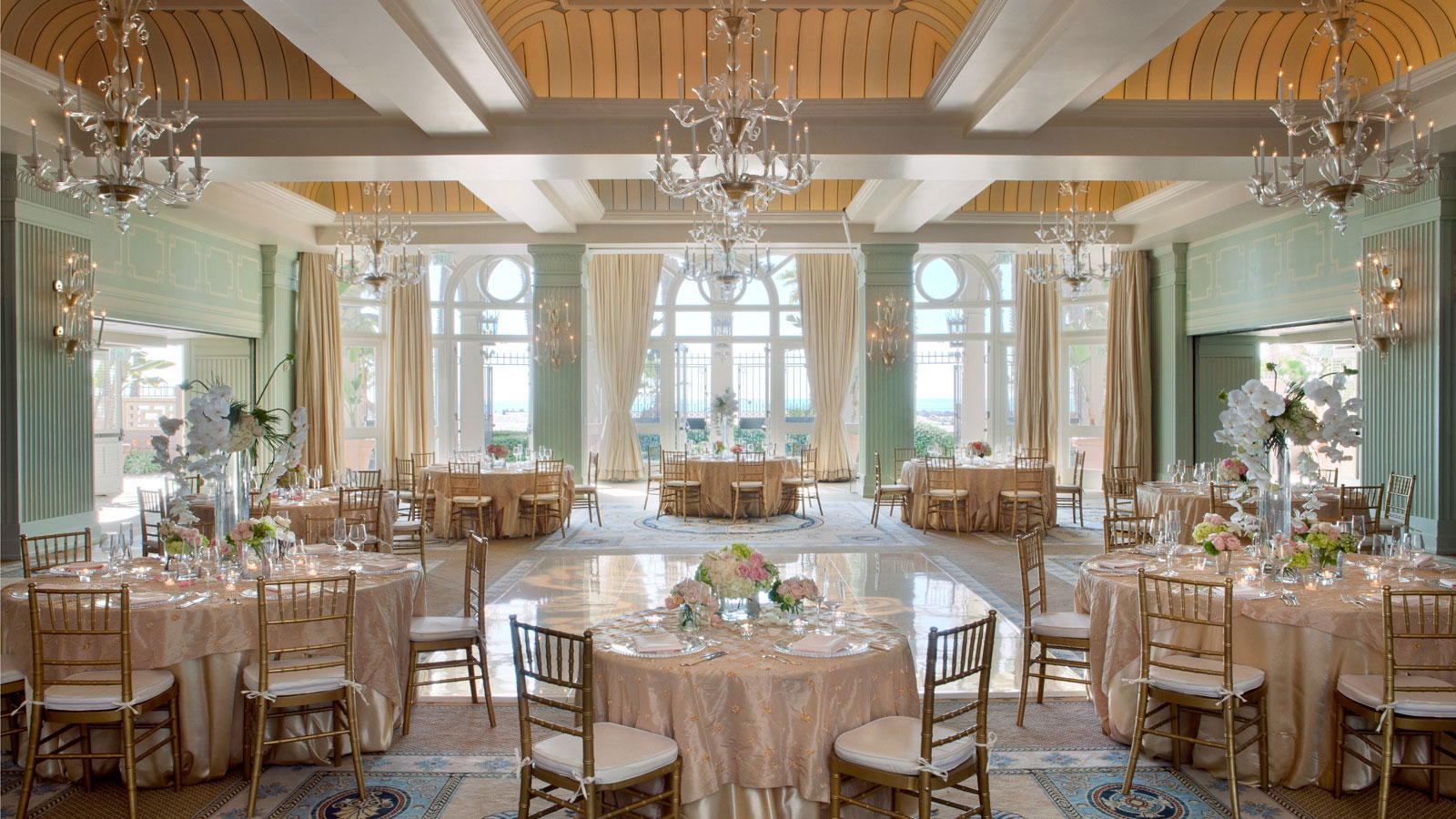 California Wedding Venue Hotel Casa Del Mar In Santa Monica
