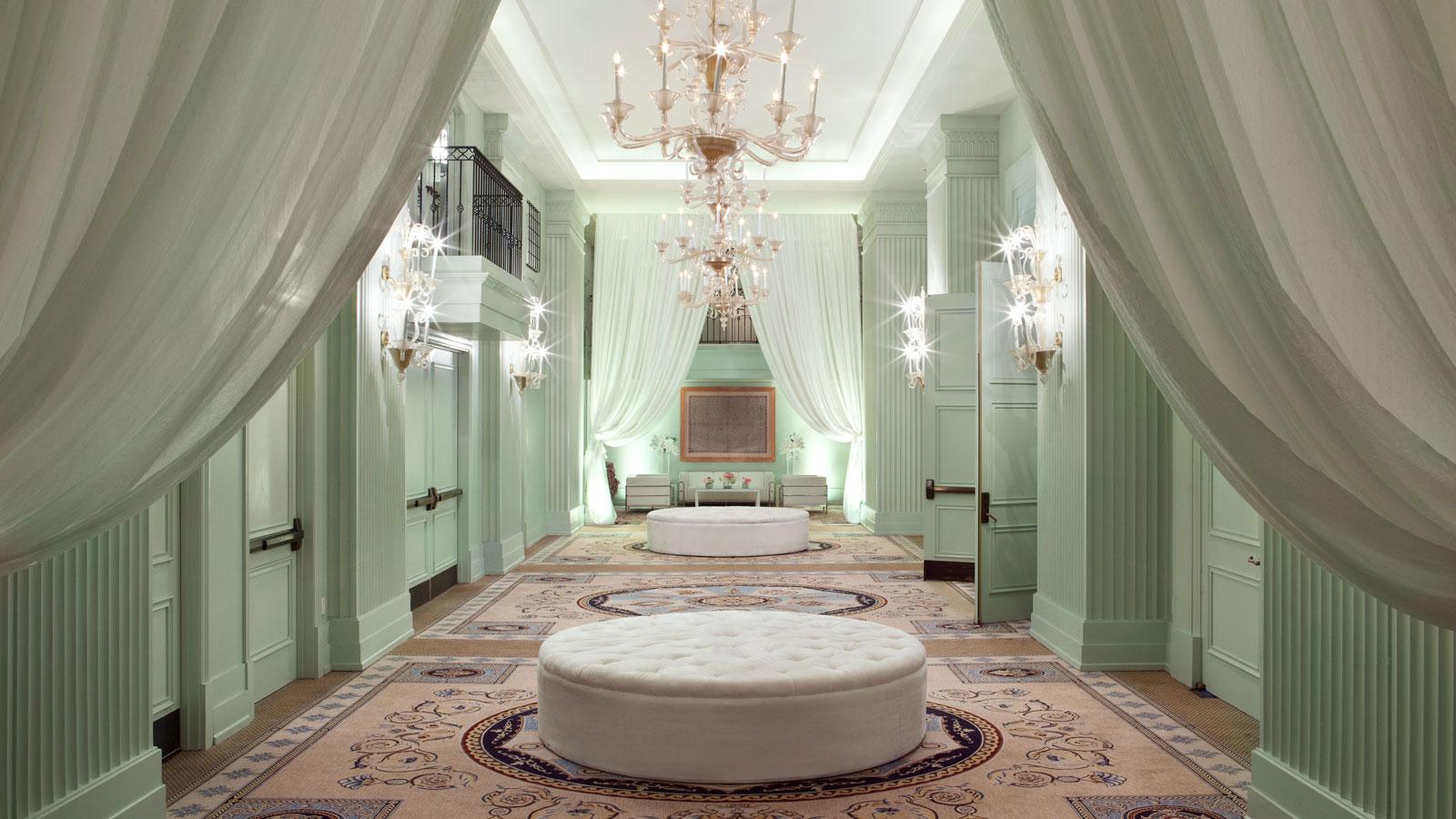 Casa Del Mar Colonnade Ballroom Foyer wedding venue