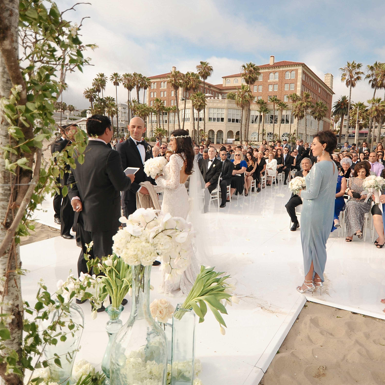 California wedding venue hotel casa del mar in santa for Design hotel wedding