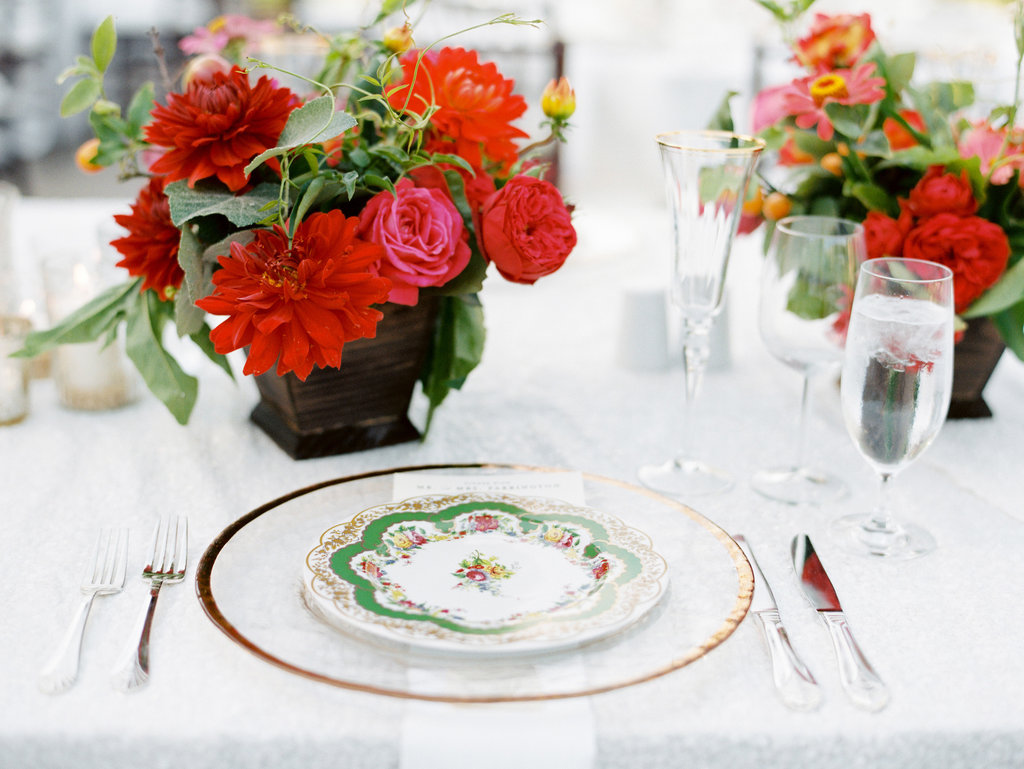 Patterned China Designs for Your Wedding Reception Décor - Inside ...