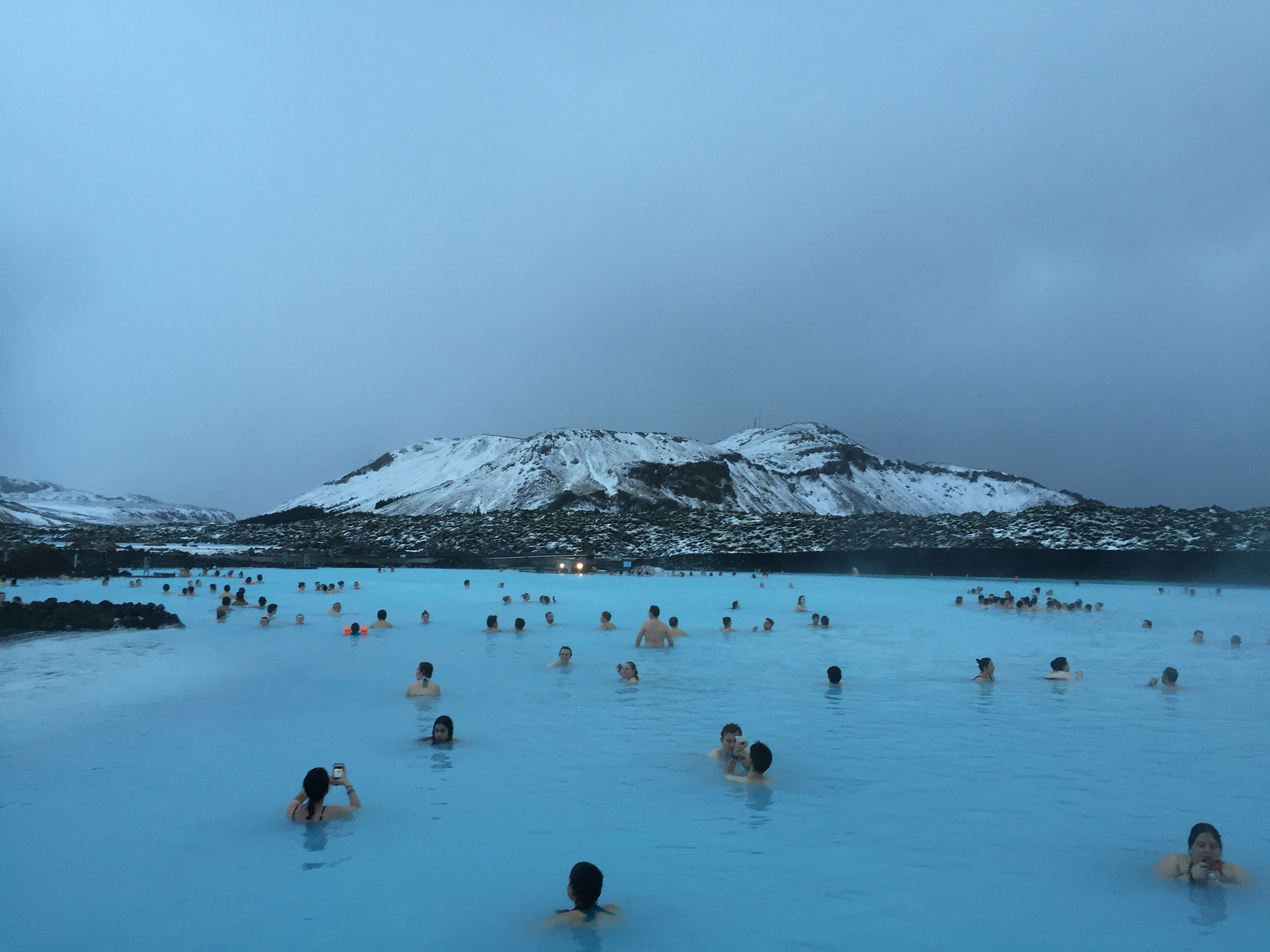 Blue Lagoon in Iceland honeymoon