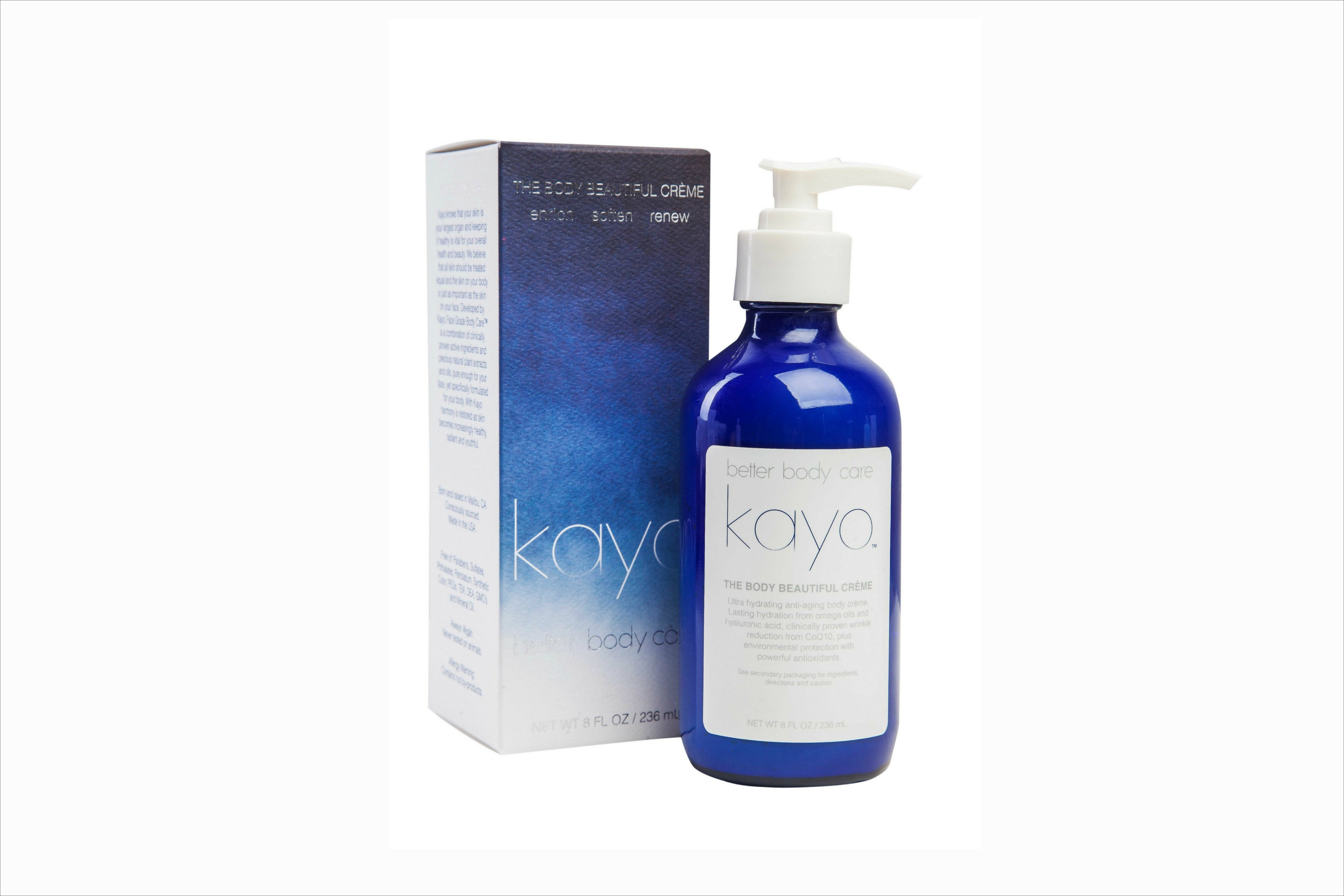 Kayo The Beautiful Body Creme beauty product