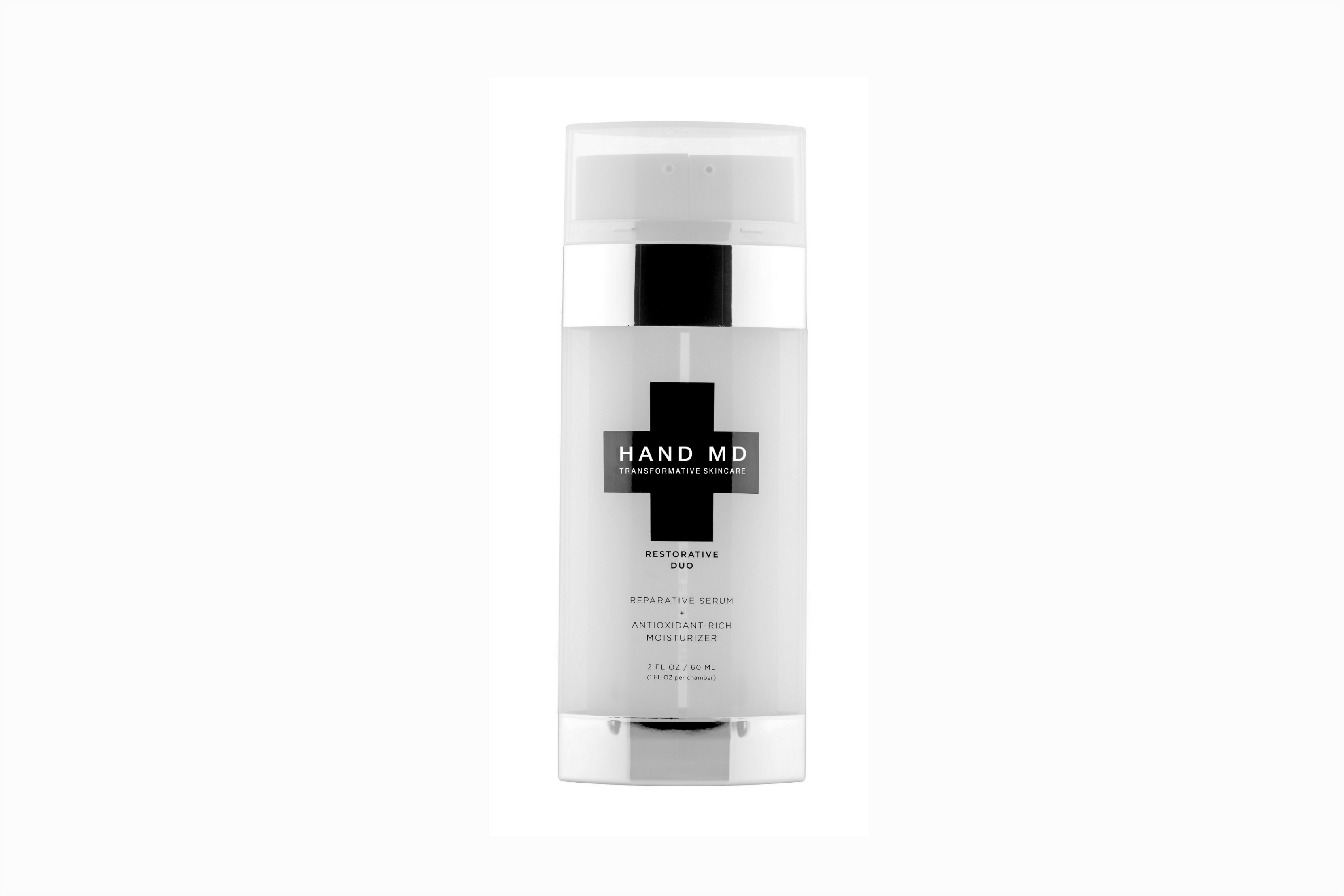 Hand MD restorative duo beauty product