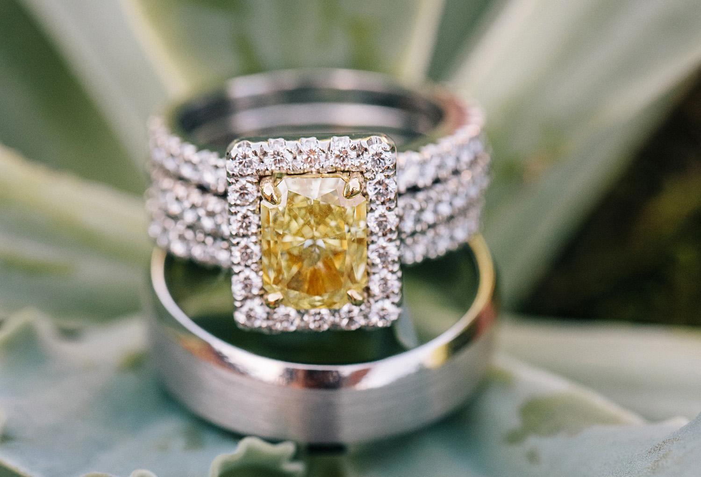 yellow diamond halo ring, pippa middleton engagement ring inspiration