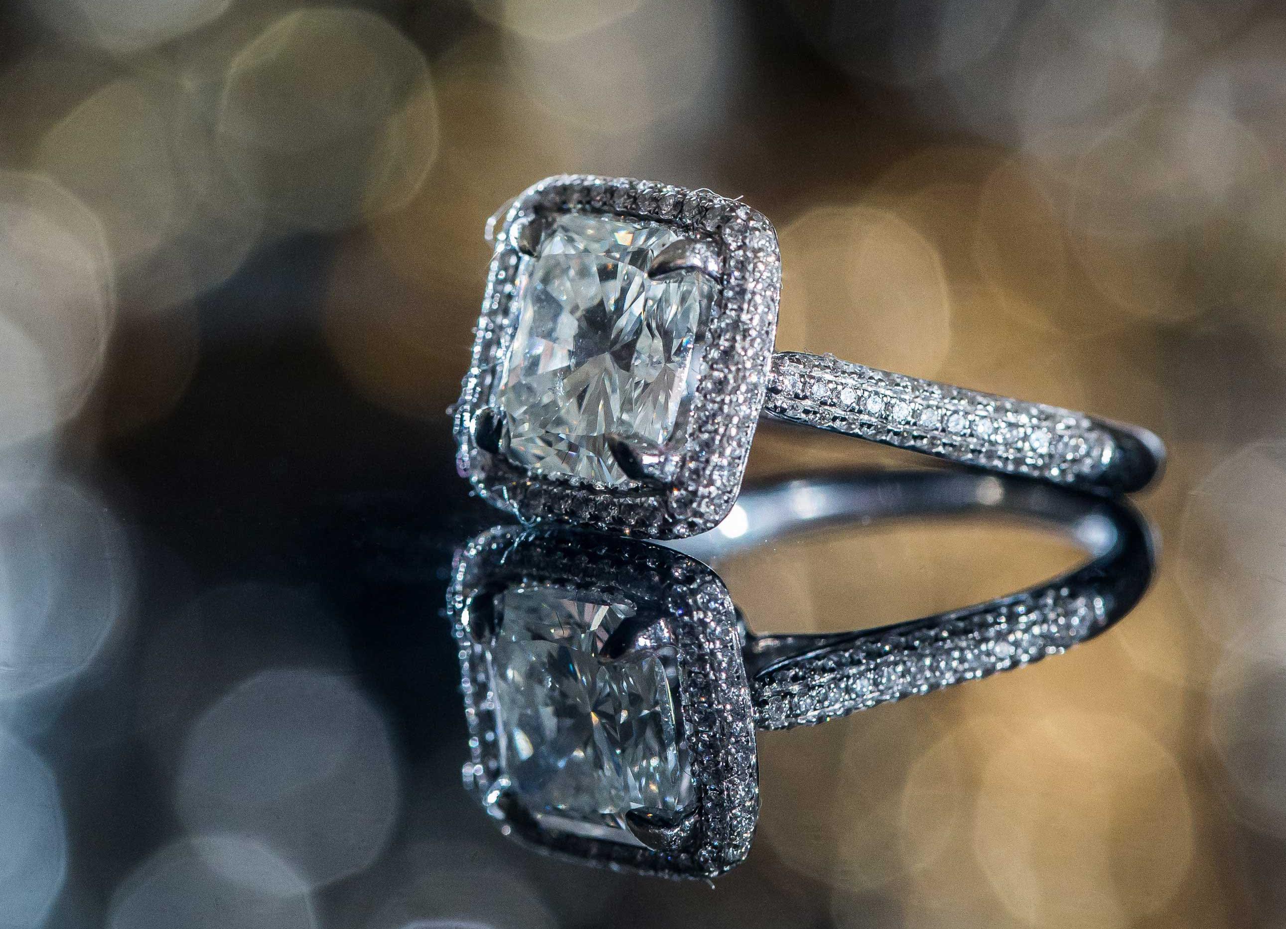 cushion cut halo ring, pippa middleton engagement inspiration