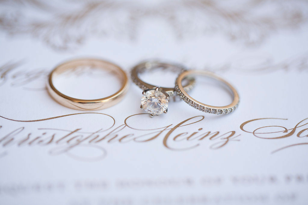 when to take off your wedding ring engagement ring - How Do You Wear Your Wedding Rings