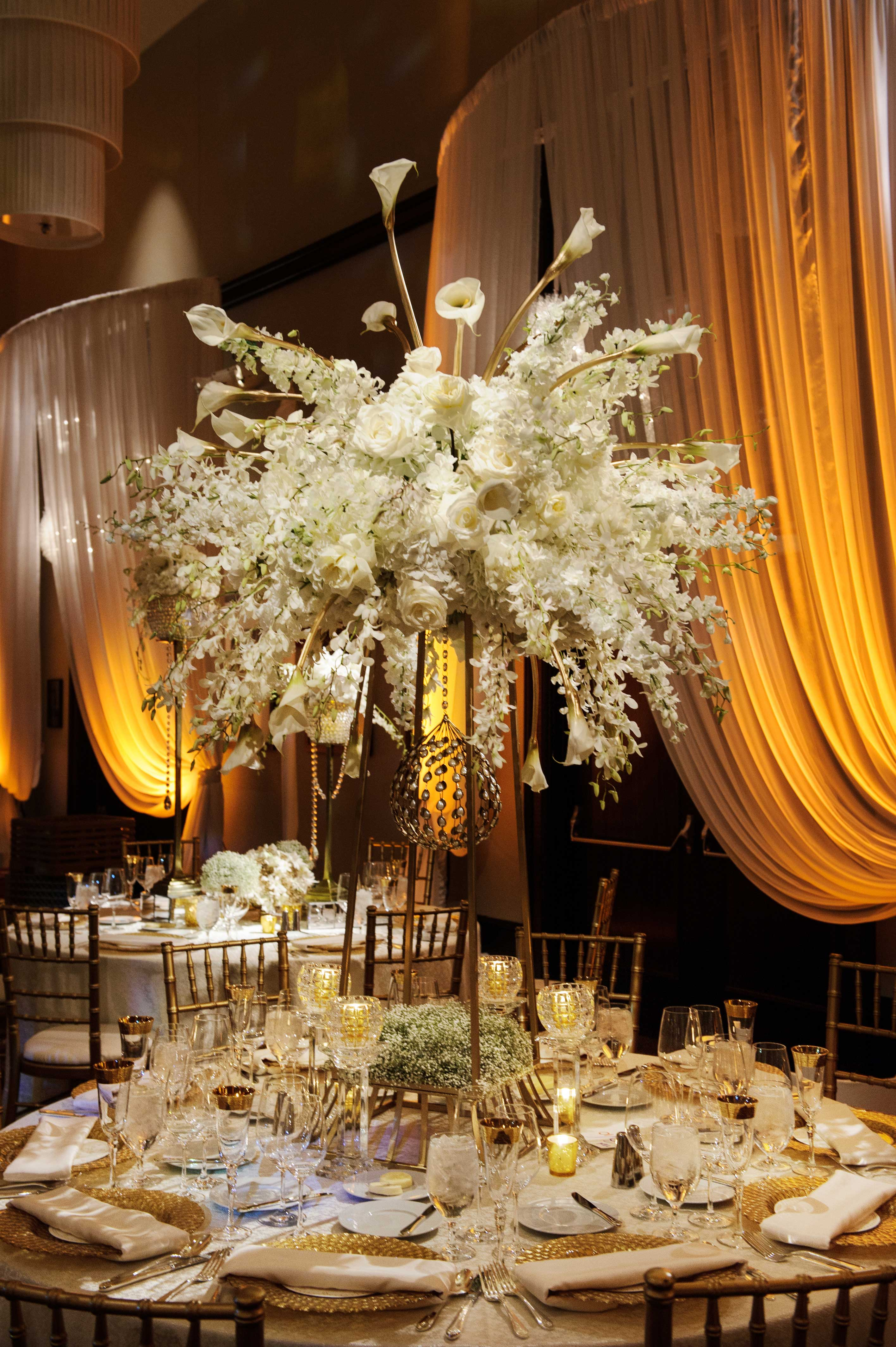 Wedding Ideas: Tall Centerpieces from Sophisticated ...