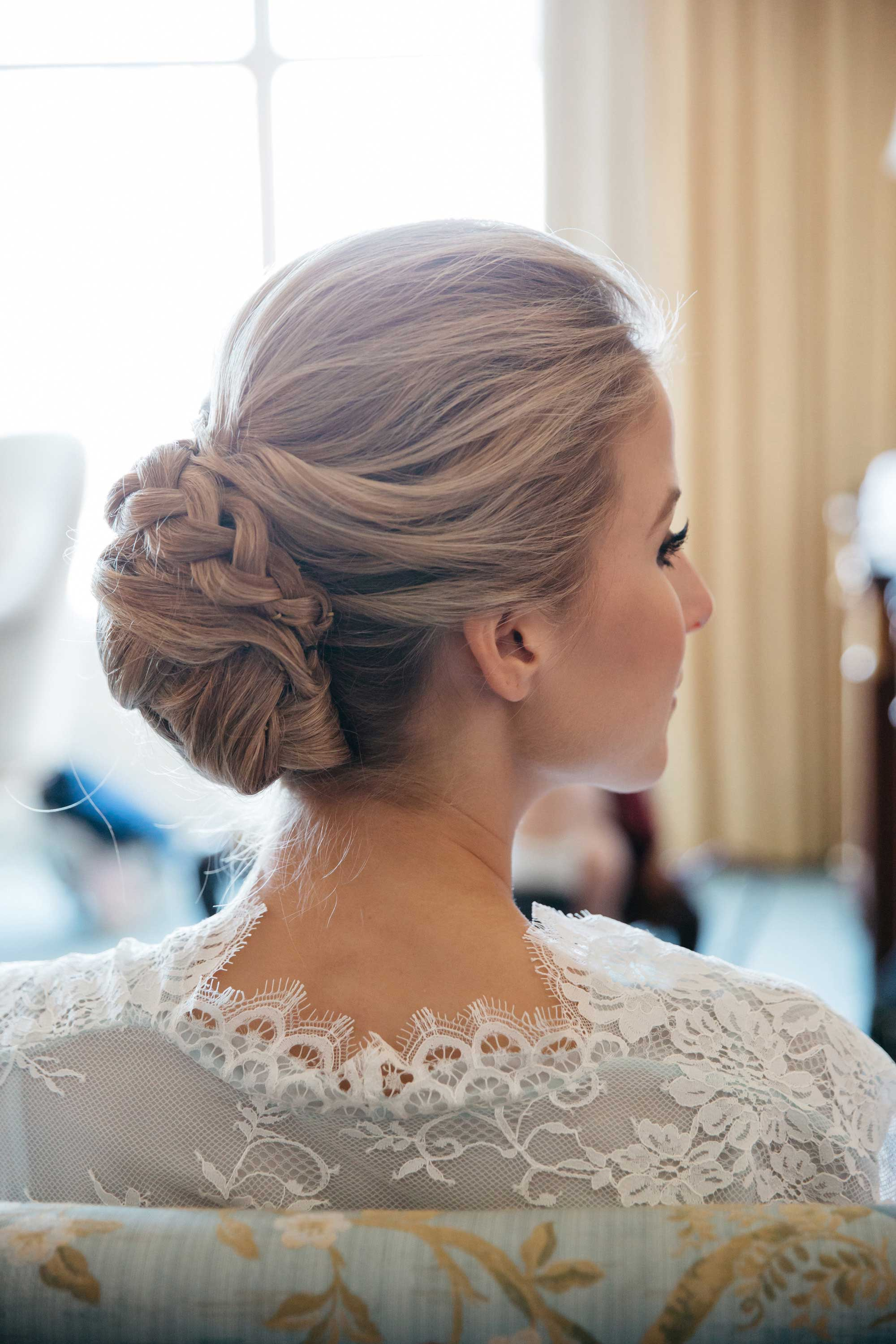 Get Inspired By Sophisticated Updos For Your Wedding Day Look