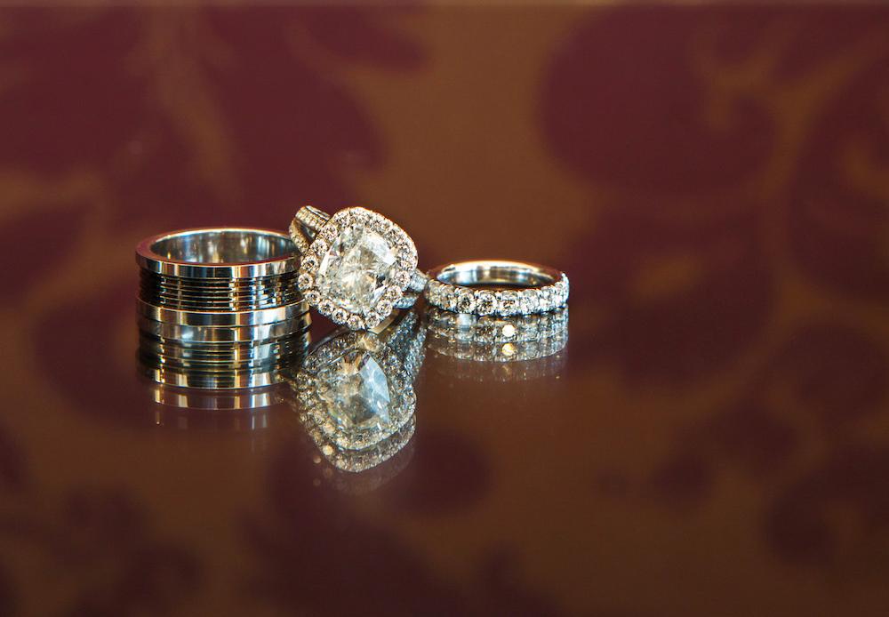 adrienne bailon engagement ring inspiration, cushion cut halo diamond ring