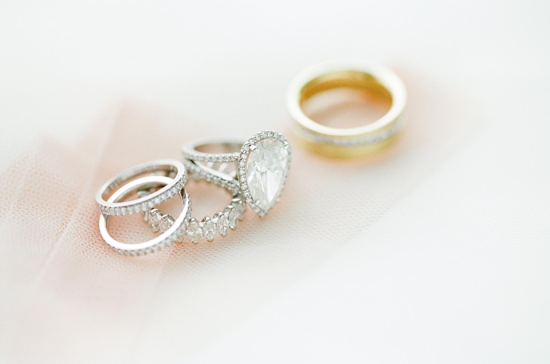 Adrienne bailon engagement ring inspiration pear shaped halo diamond