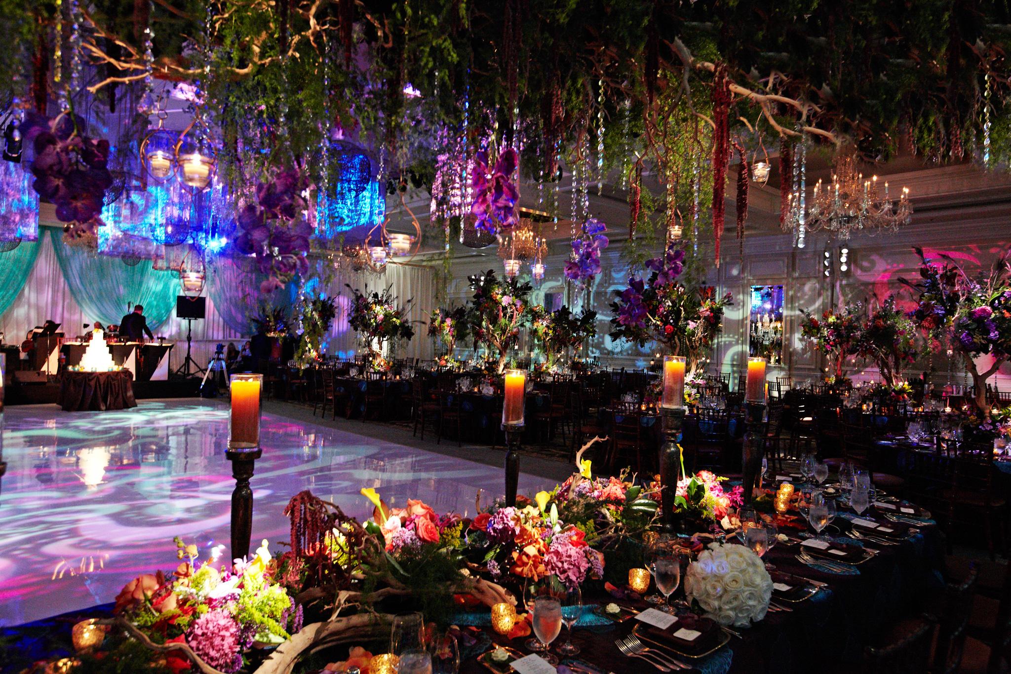 Indoor Dimly Lit Wedding Ceremonies And Receptions