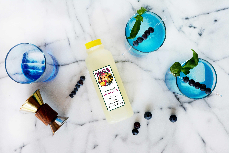 Lemonade vodka blue curacao recipe cocktail beverage