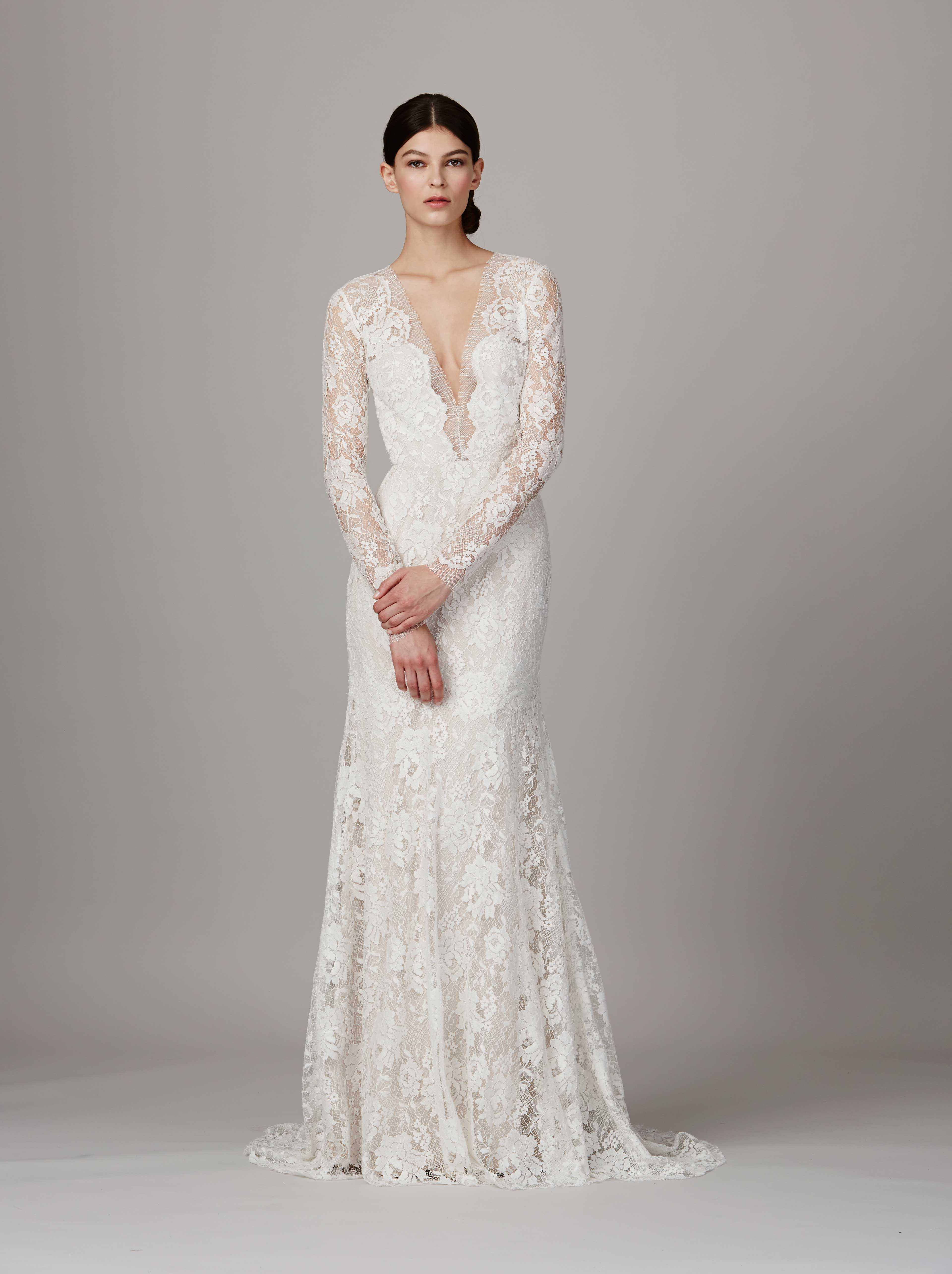 Wedding Dresses With Sexy Elements That Arent Inappropriate