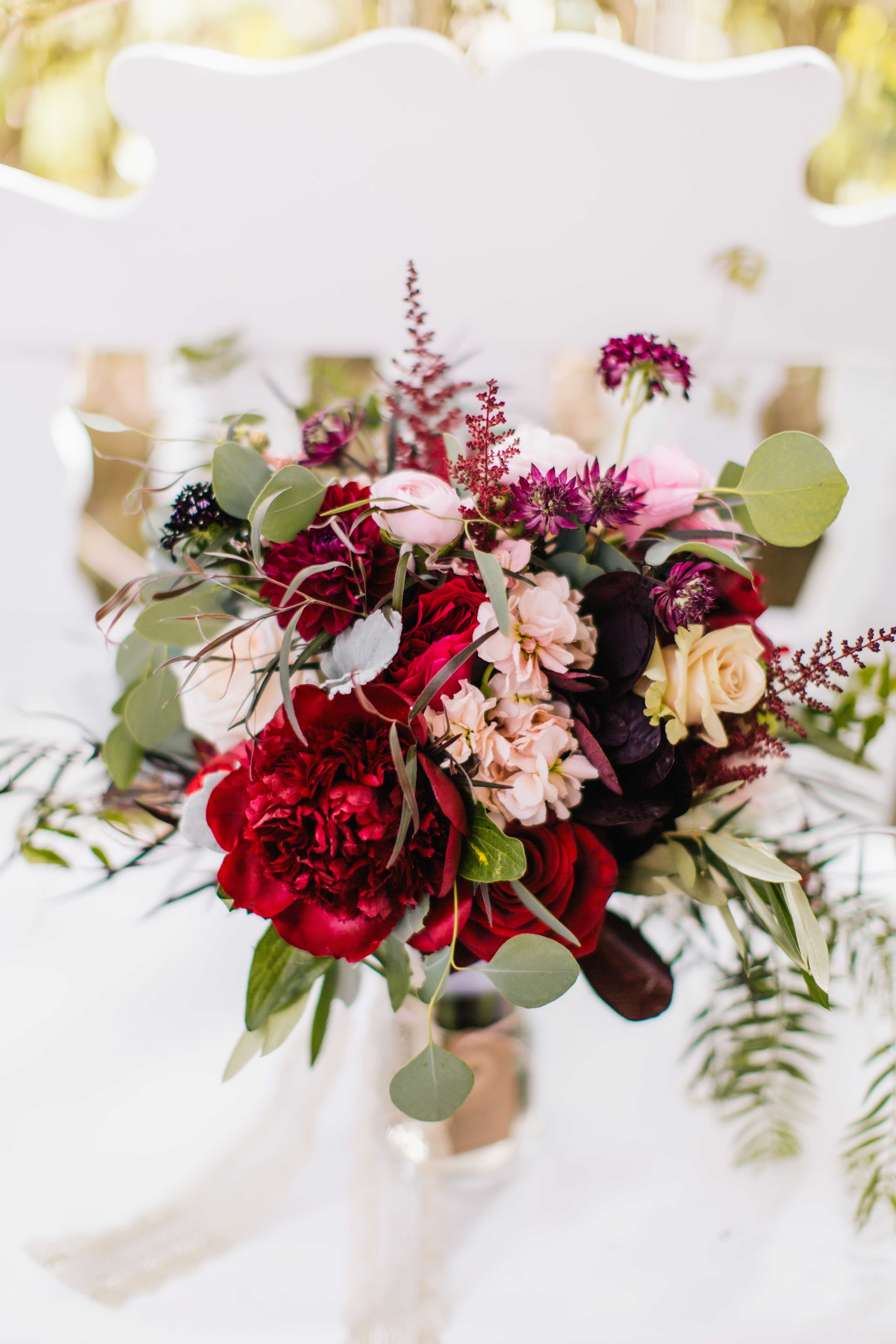 Rustic And Chic Bridal Bouquets Inside Weddings