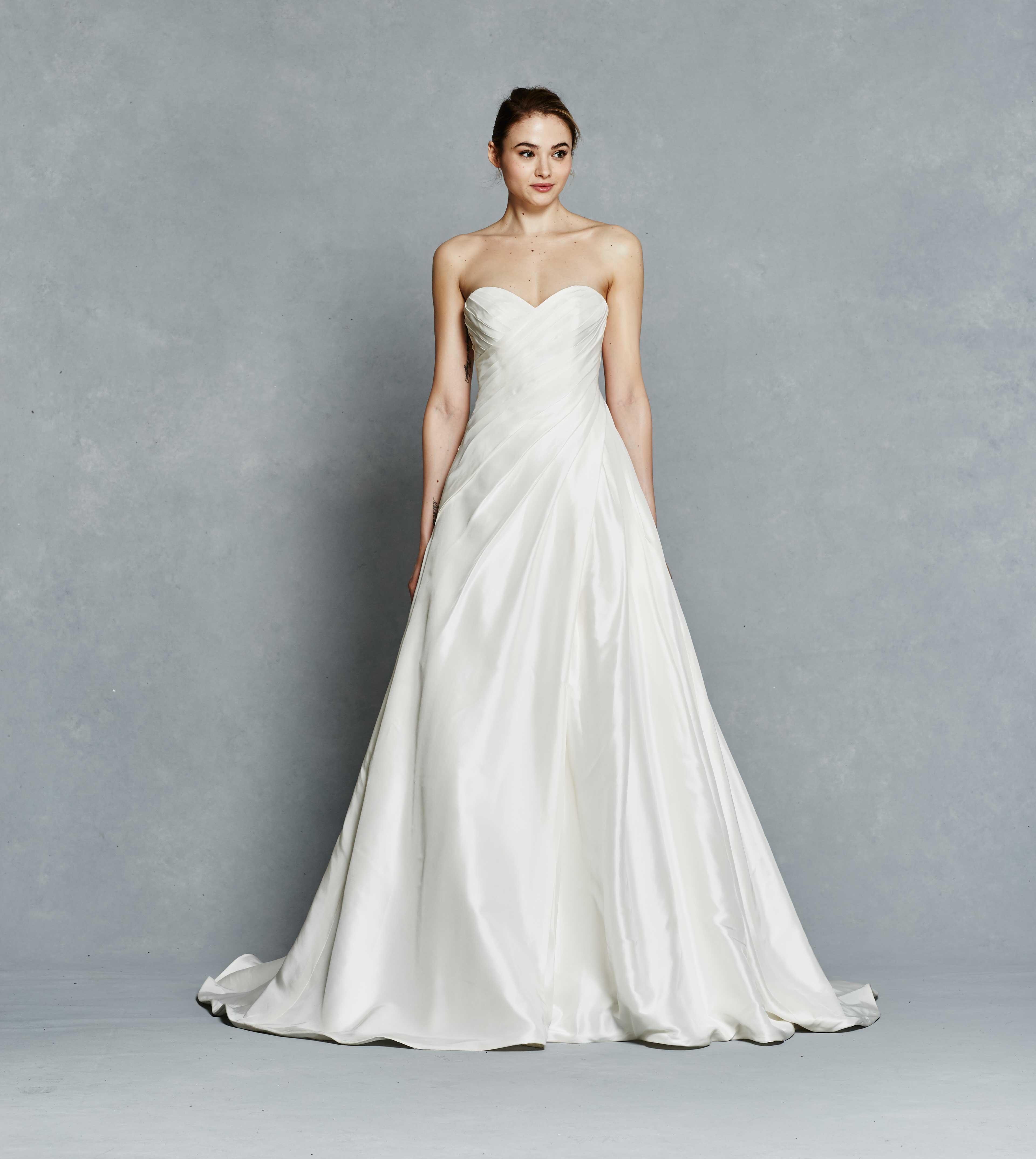 Simple Wedding Dresses: Classic Designer Bridal Gown