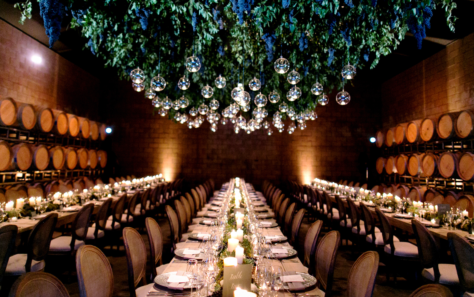 Wedding Trend Decorating With Glass Globes Spheres And