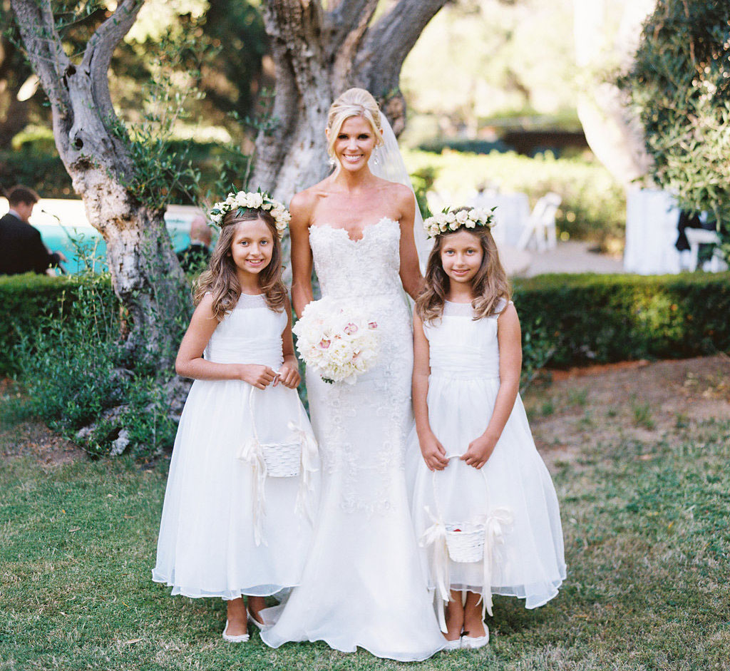 Wedding Flower Girl: Wedding Photos: Adorable Flower Girls & Brides