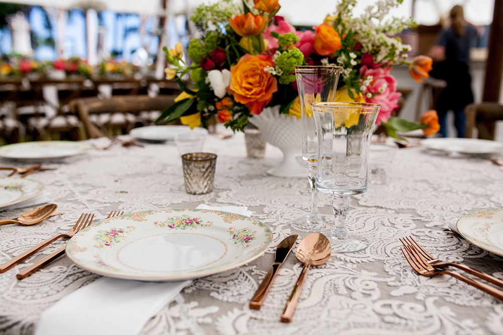 fall wedding, fall colors centerpieces
